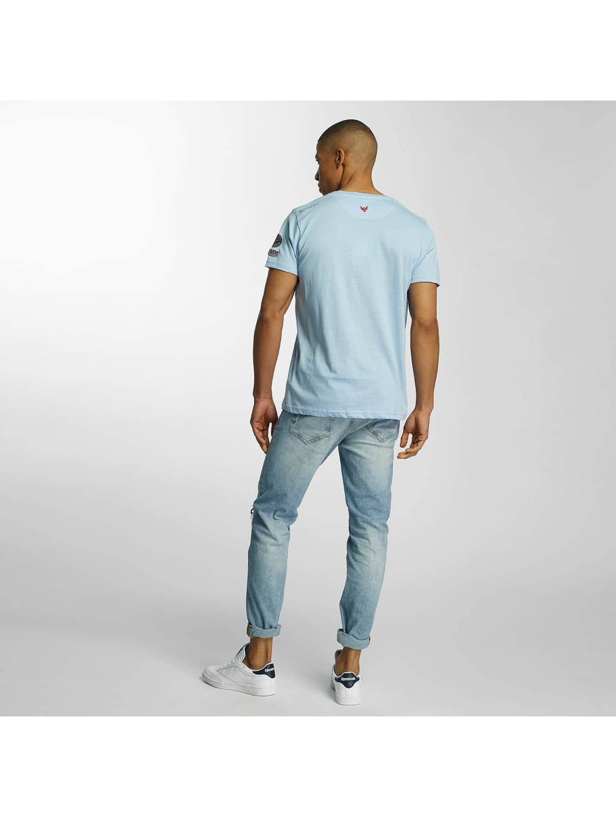 Brave Soul T-Shirt Large Crew Neck blue
