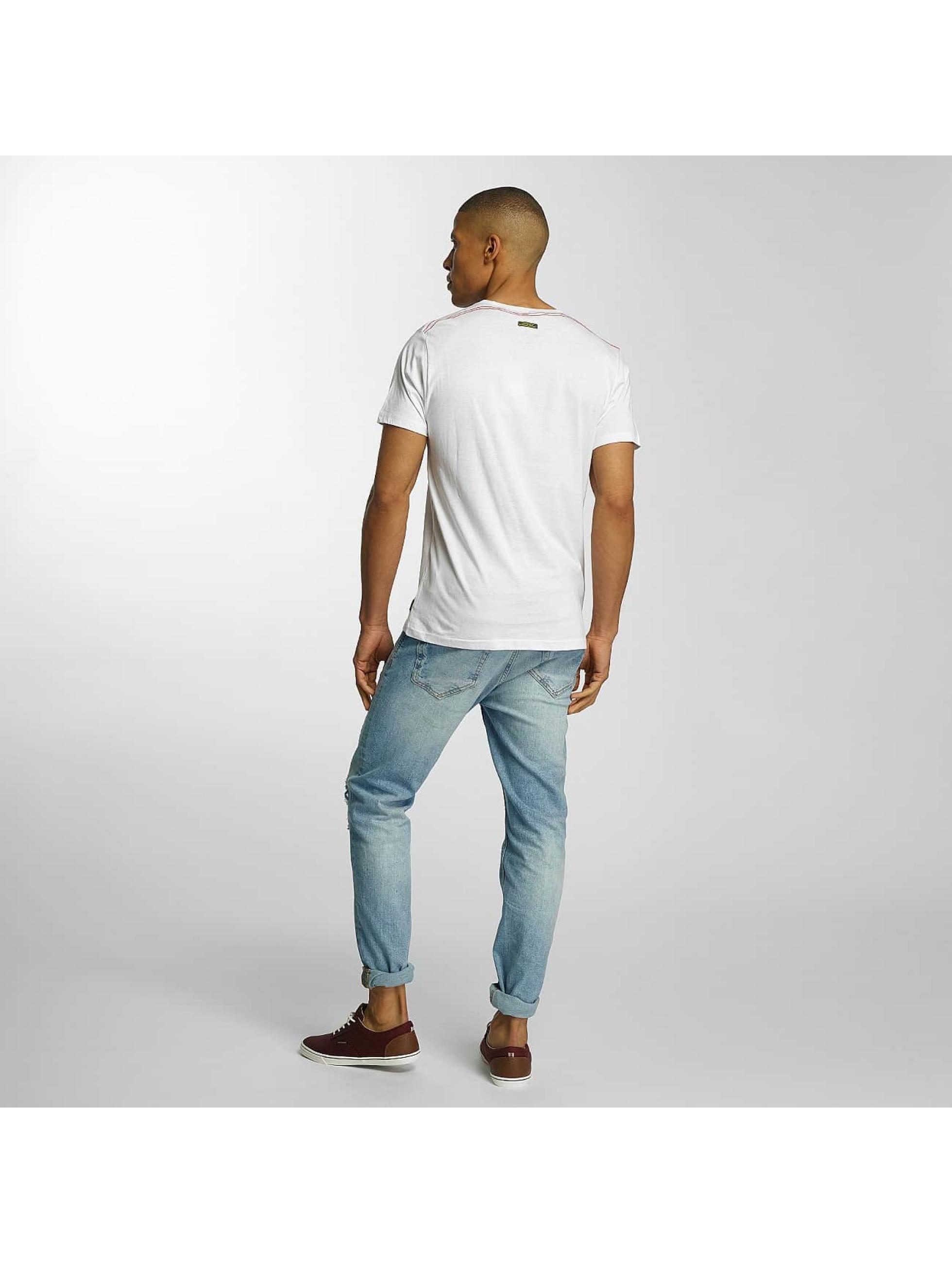 Brave Soul T-Shirt Crew Neck Set white