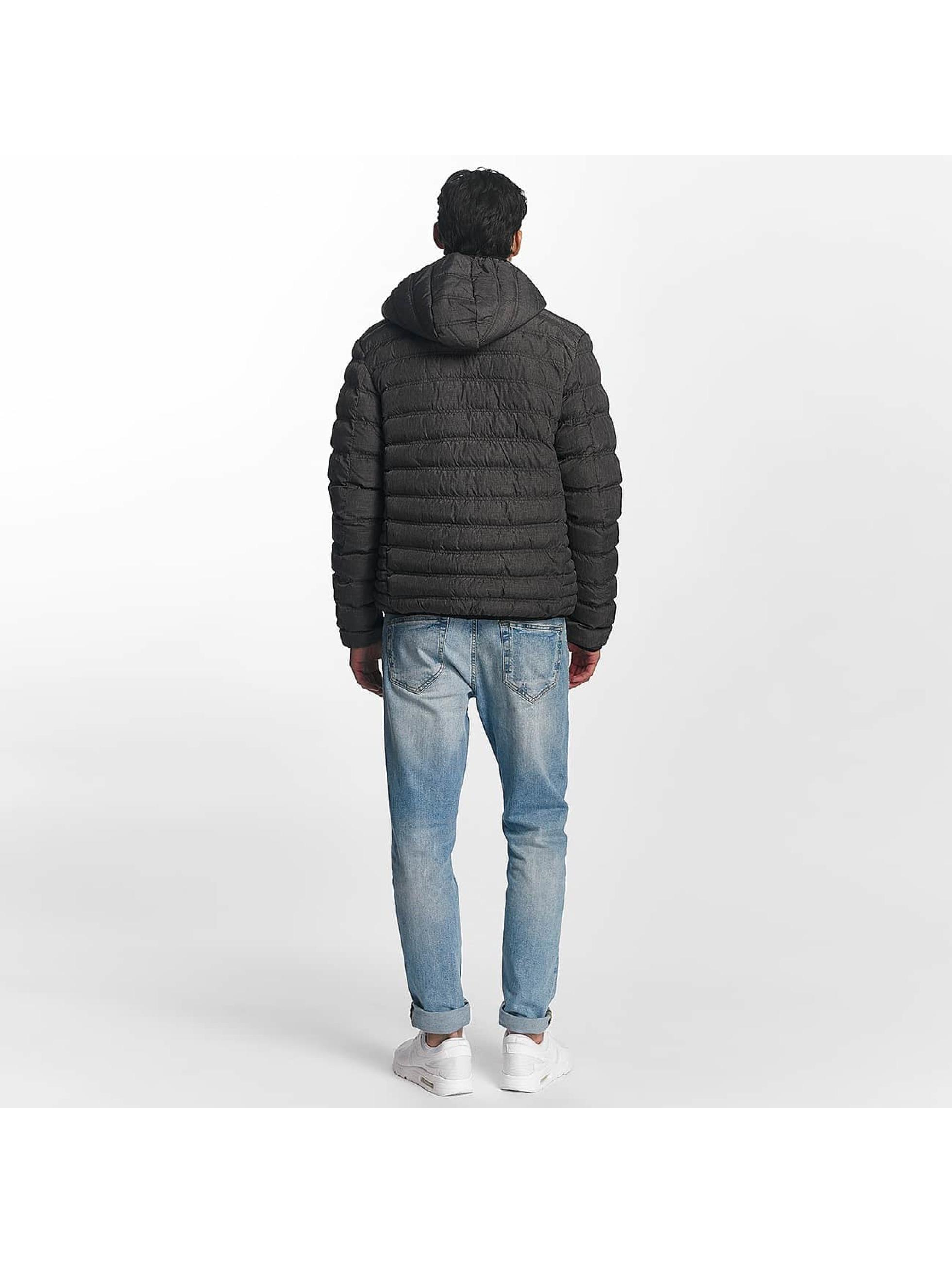 Brave Soul Winter Jacket Puffer gray
