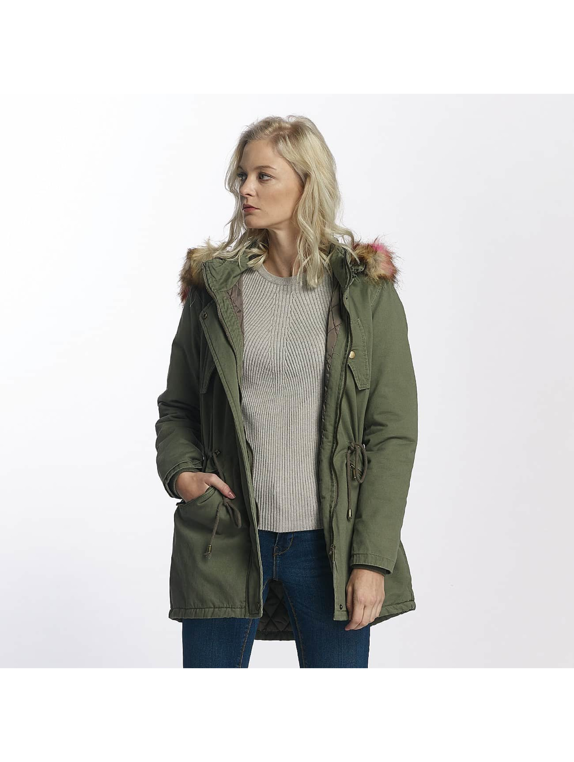 Brave Soul Winter Jacket Washed khaki
