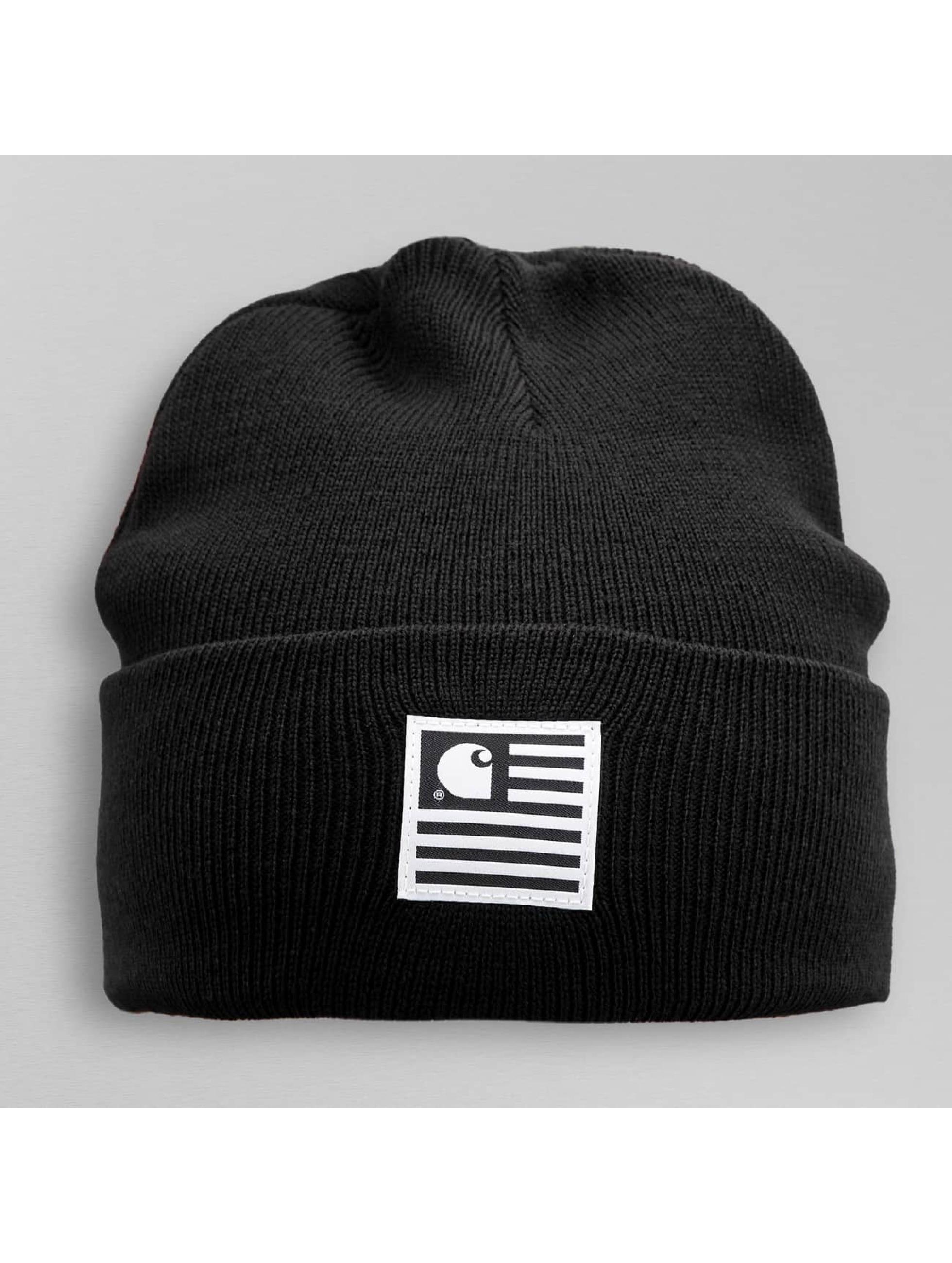 carhartt wip accessoires bonnet state en noir 268562. Black Bedroom Furniture Sets. Home Design Ideas