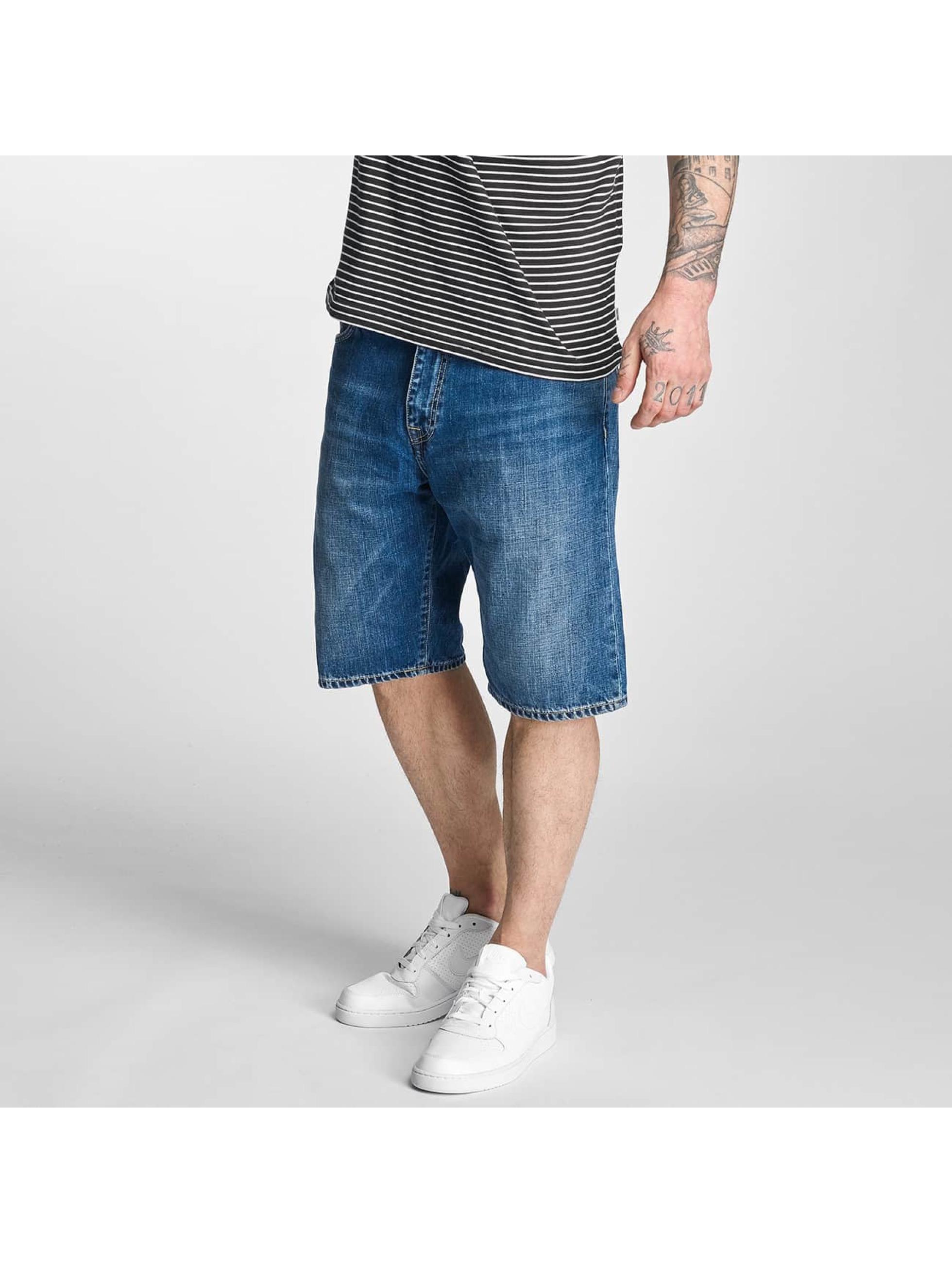 Carhartt WIP Short Davies Cotton Otero blue