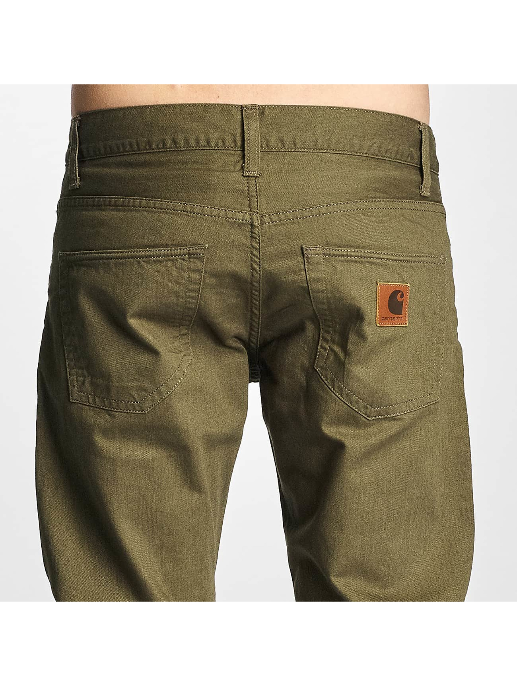 Carhartt WIP Straight Fit Jeans Oakland green