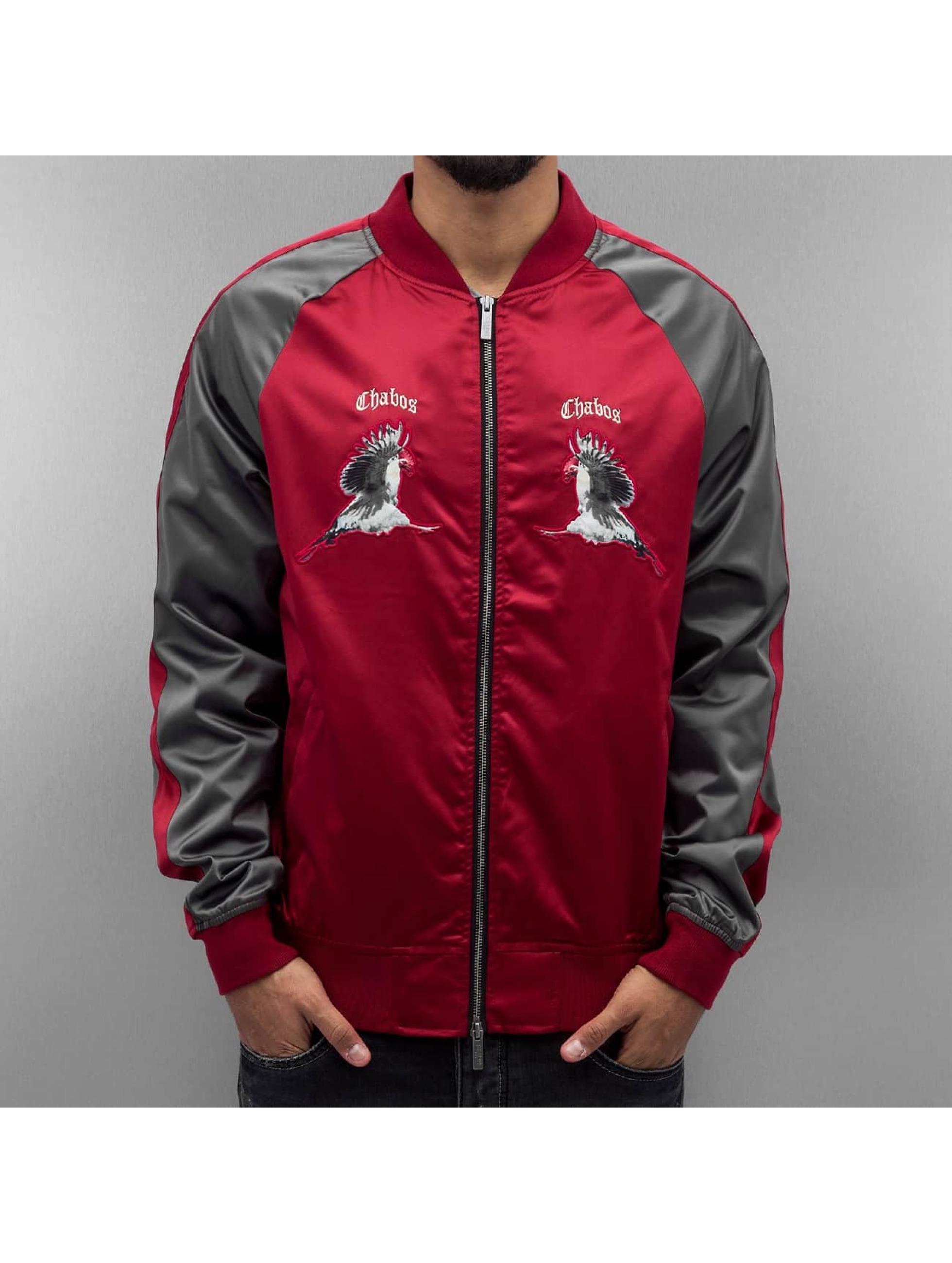 CHABOS IIVII Lightweight Jacket Kick Push Souvenir gray