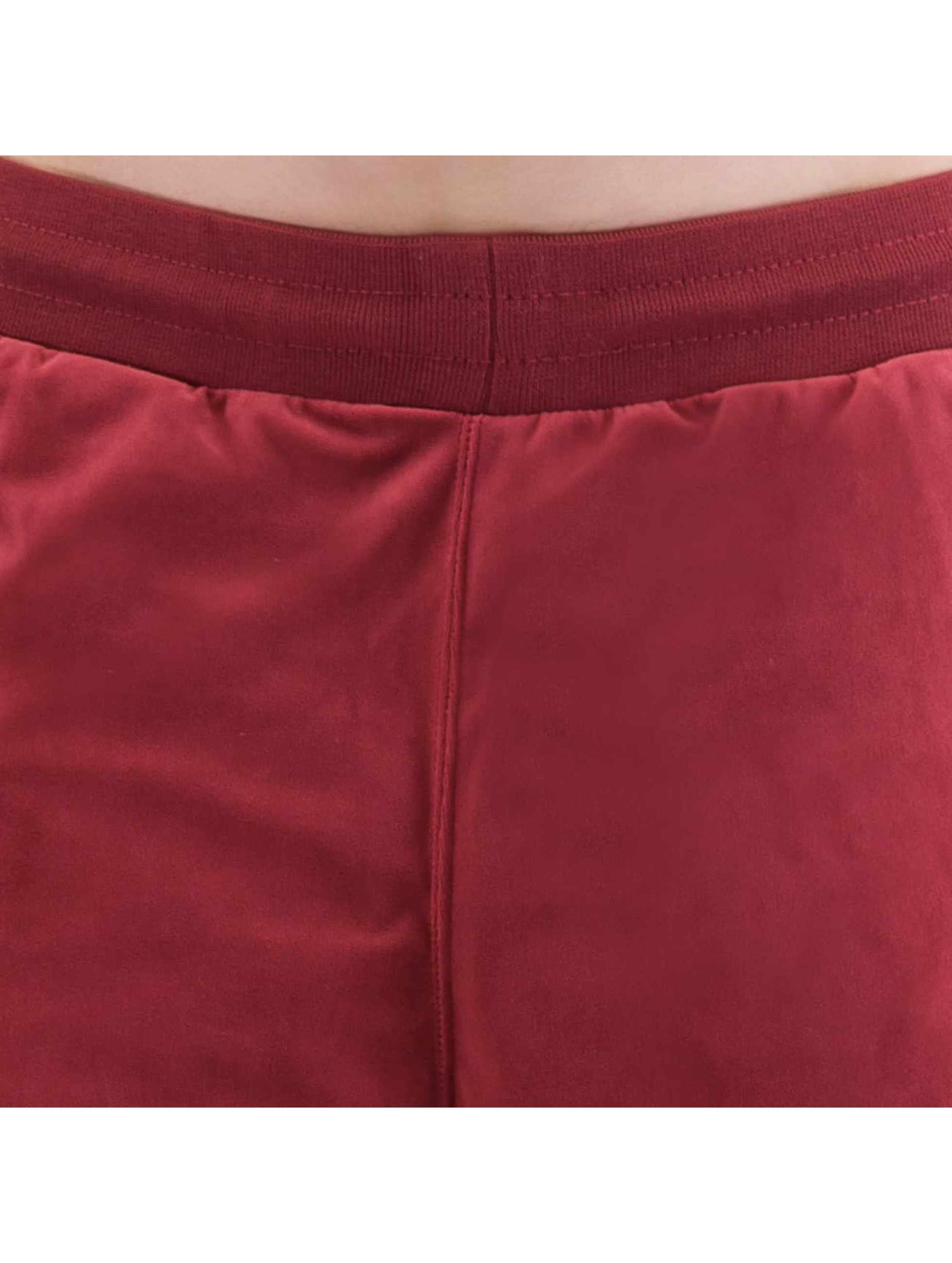 CHABOS IIVII Sweat Pant Core Velour Samt red