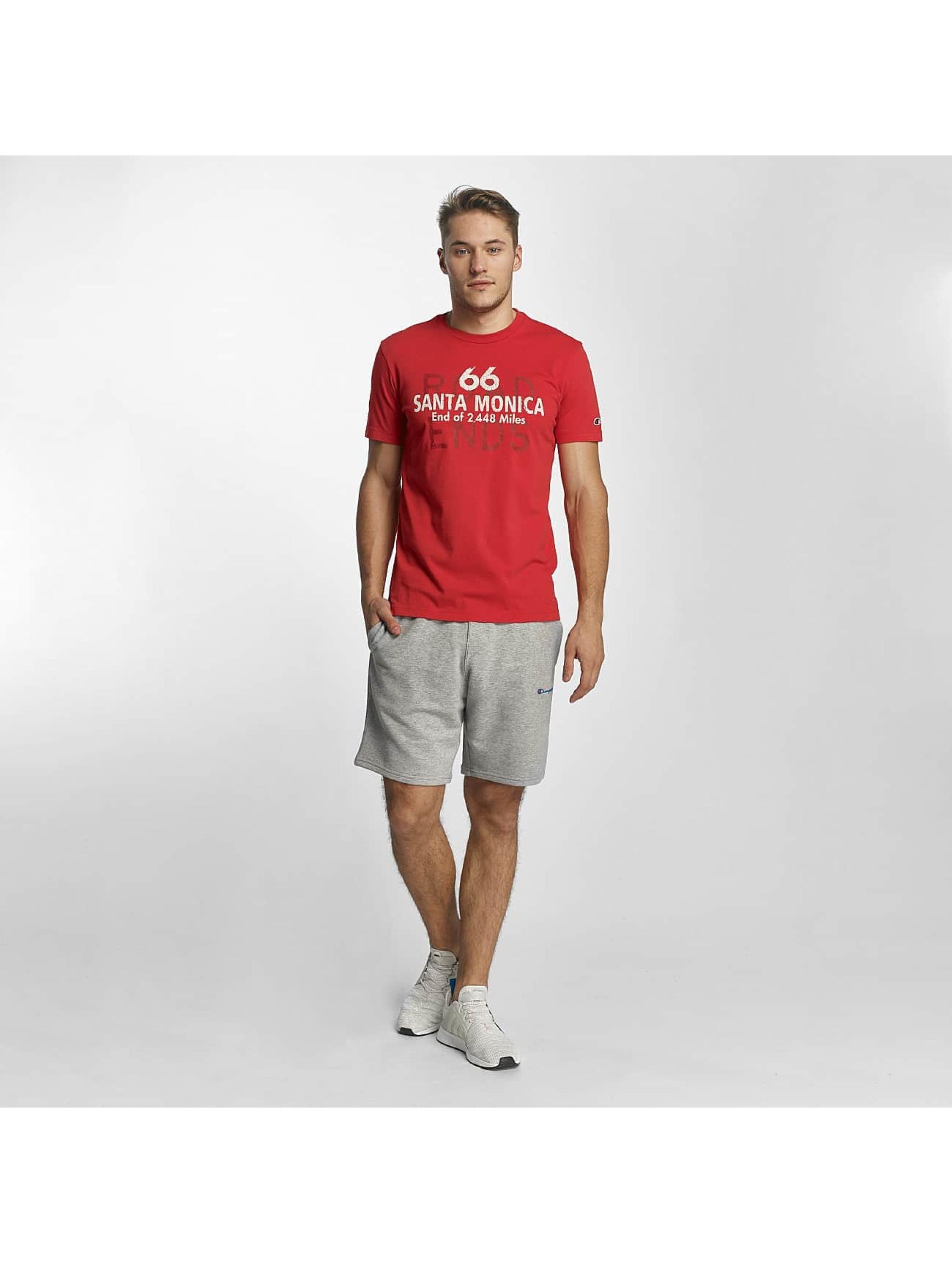 Champion Athletics T-Shirt Rockefeller red