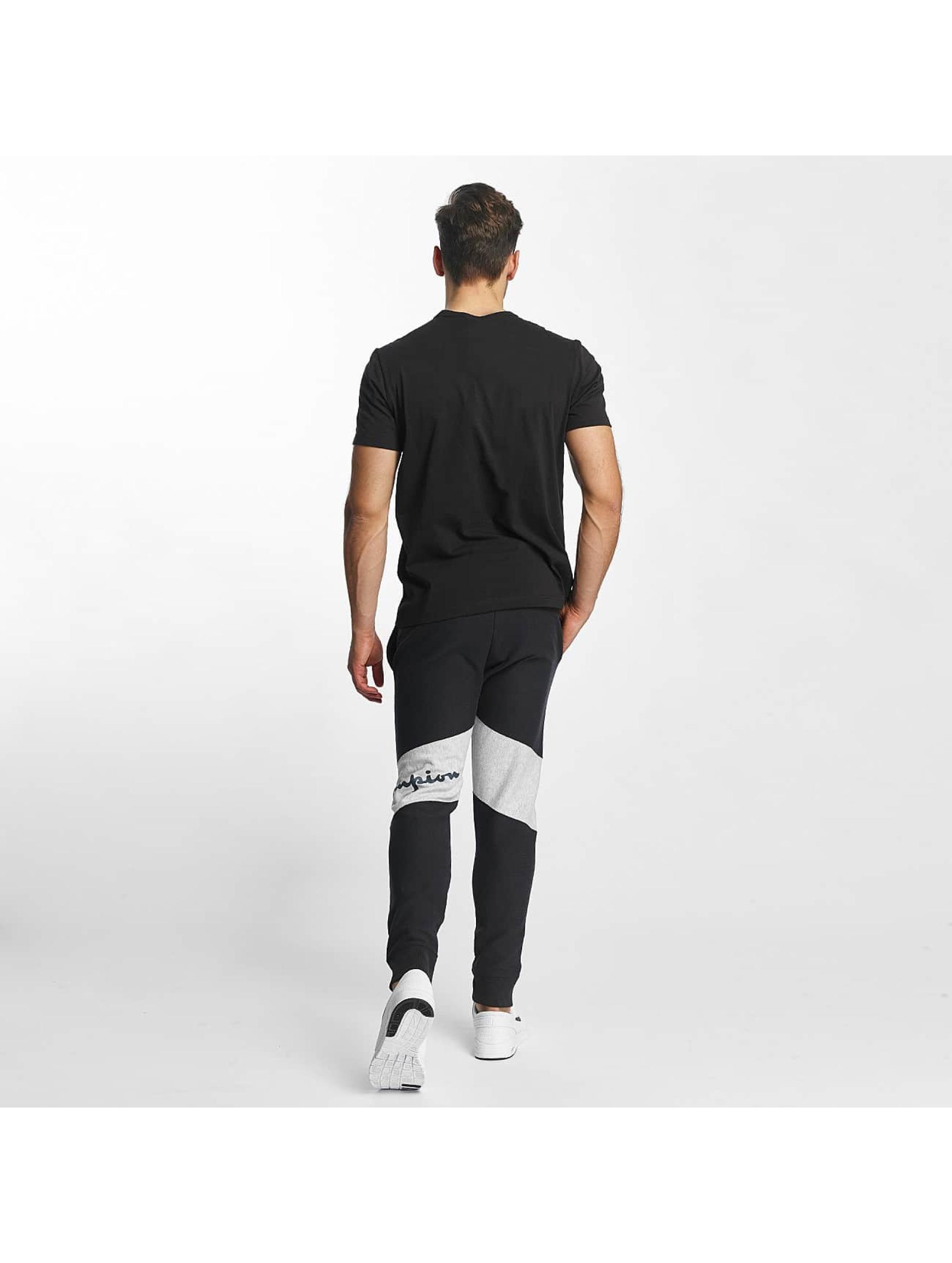 Champion T-Shirt Cotton Graphic black