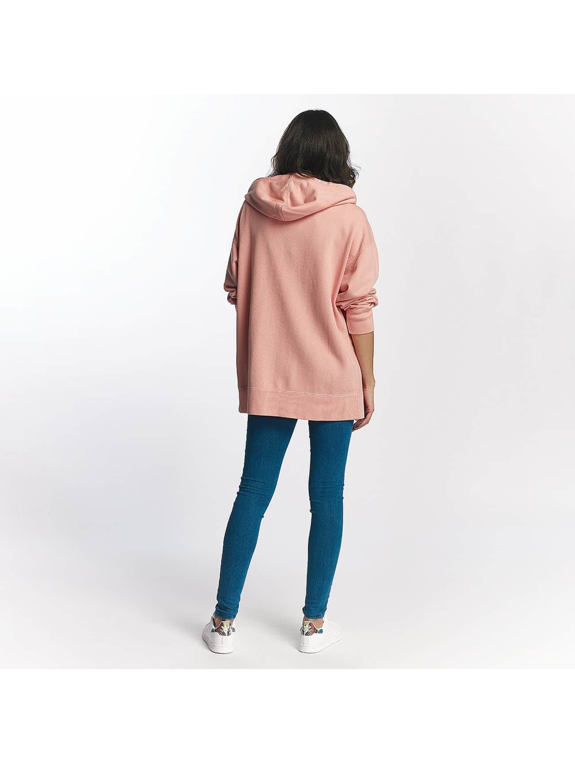 Champion Zip Hoodie Champion Oversize Zip Hoody Rose rose