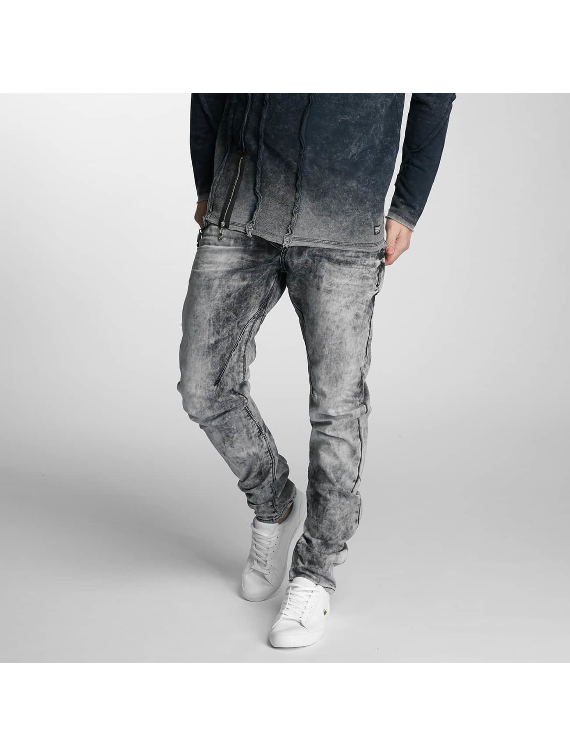Cipo & Baxx Slim Fit Jeans Rif gray