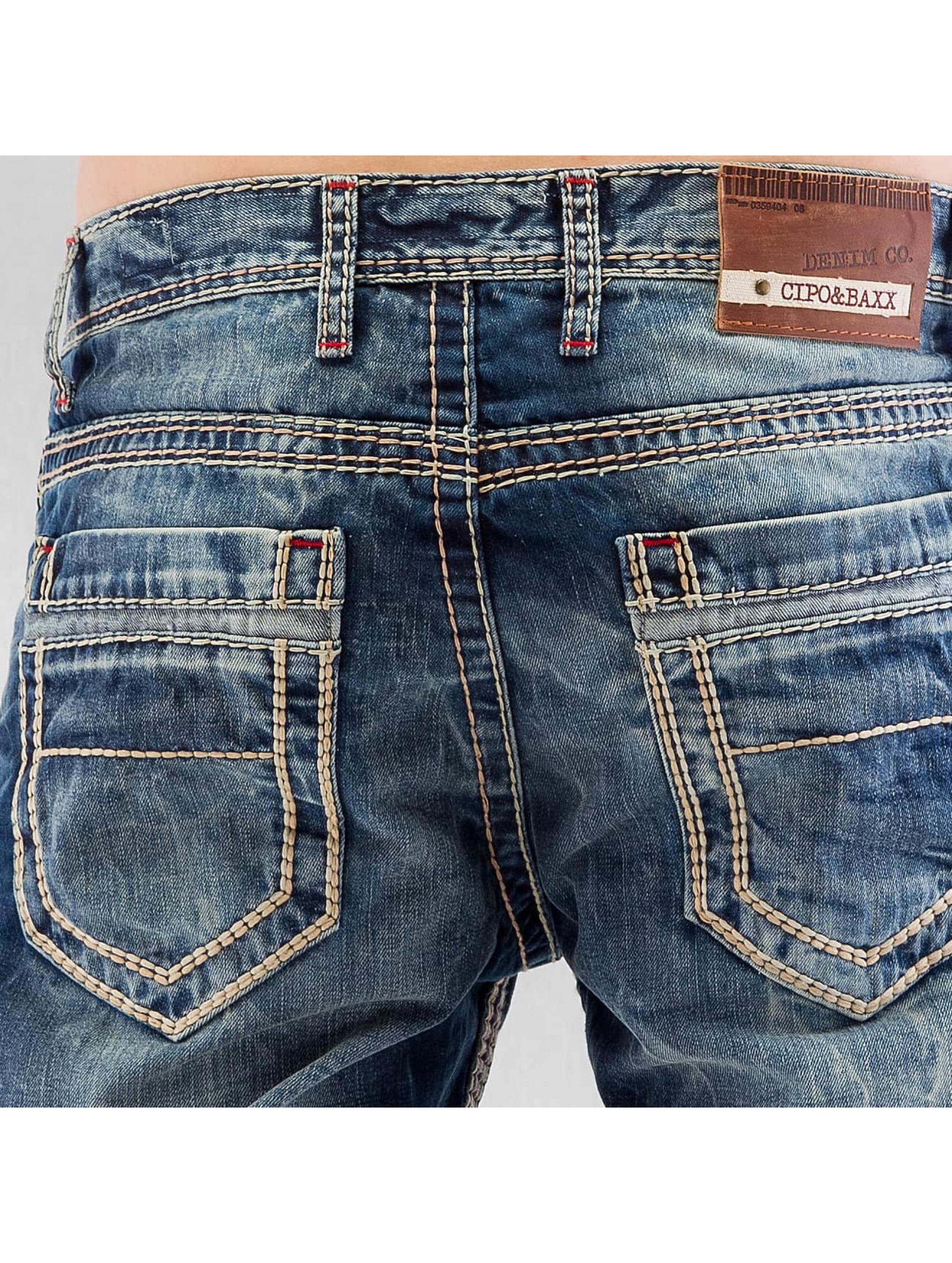 Cipo & Baxx Straight Fit Jeans Seam II blue