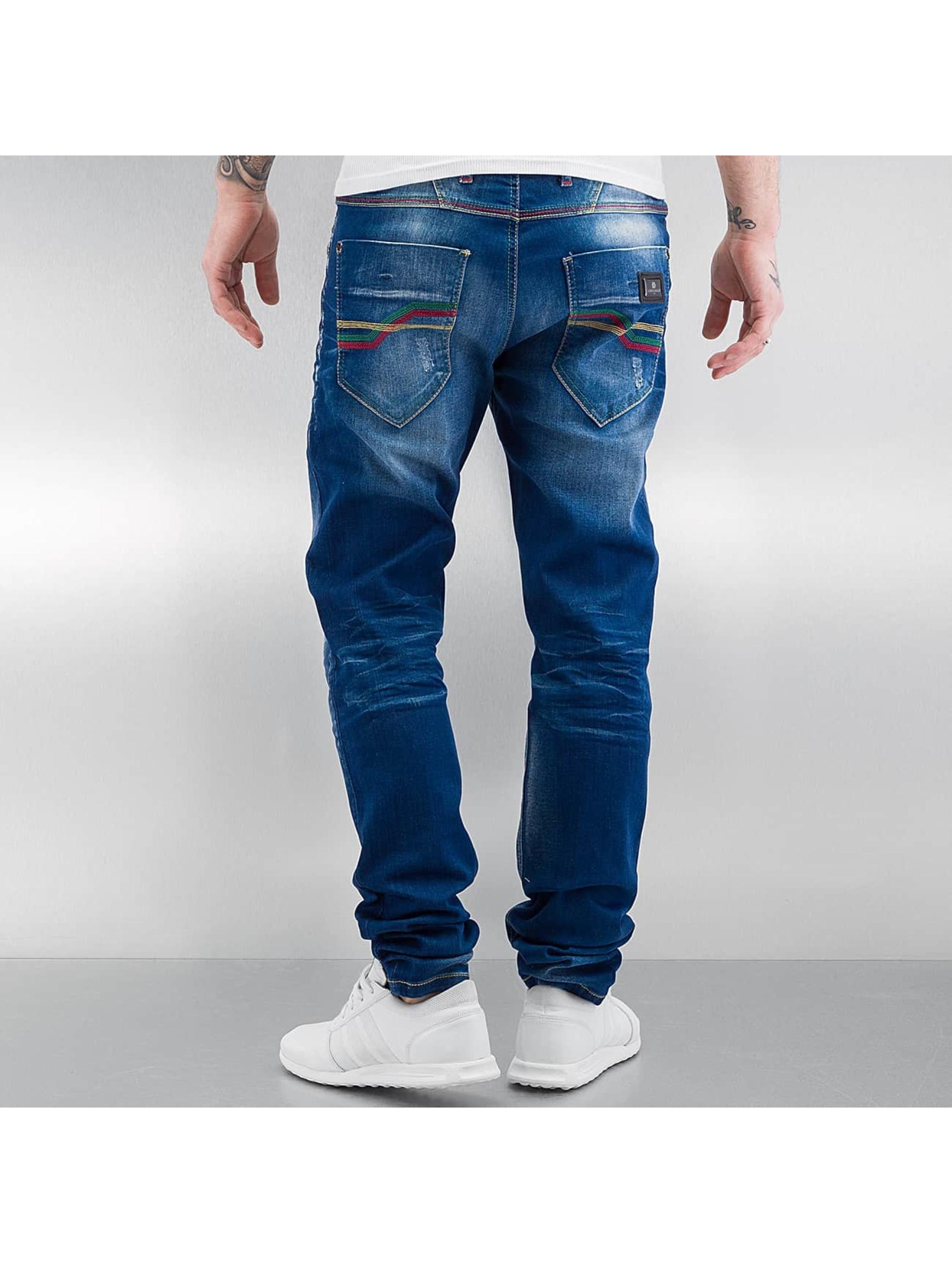 Cipo & Baxx Straight Fit Jeans Swindon blue