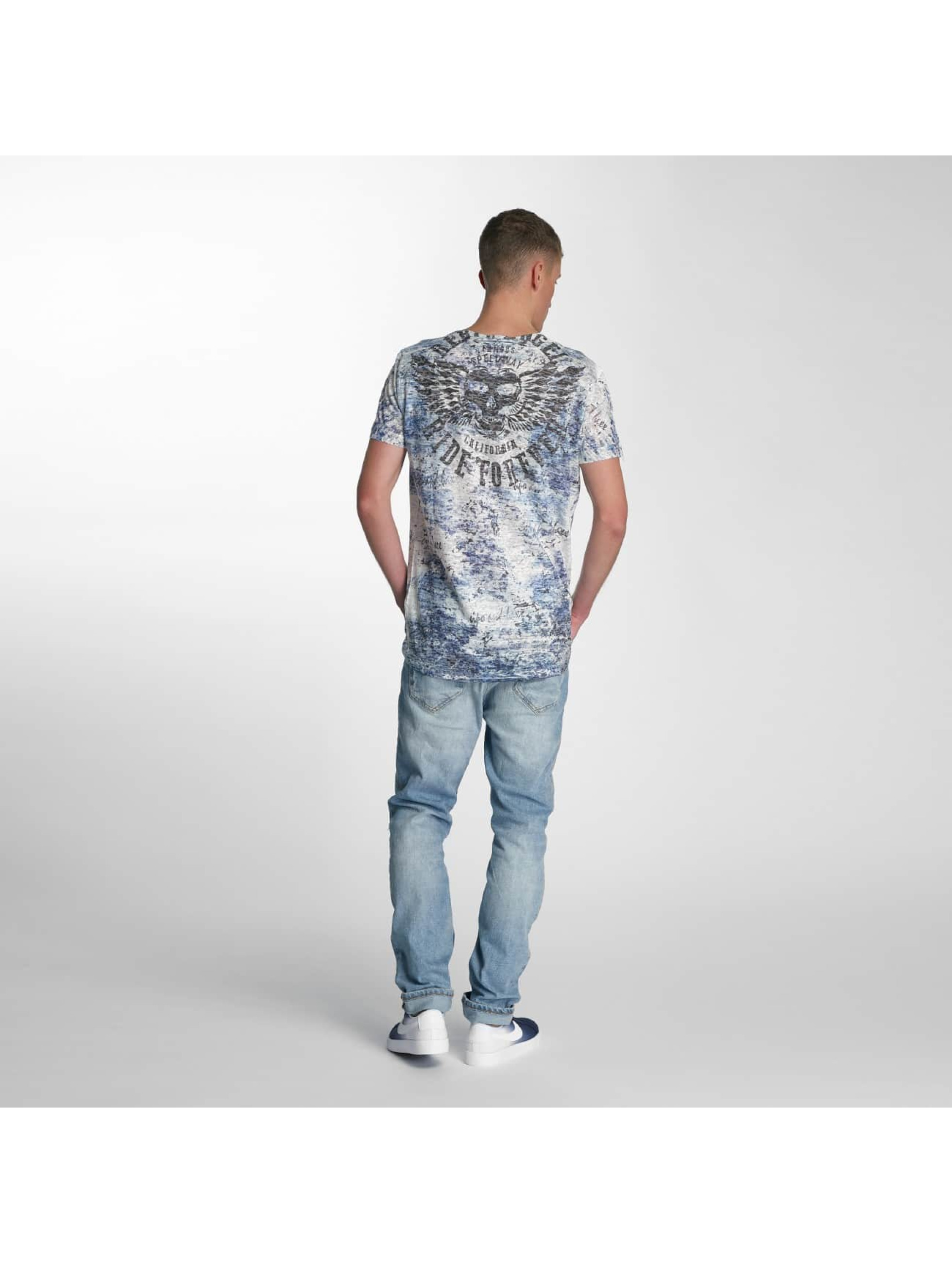 Cipo & Baxx T-Shirt Ride Forever blue