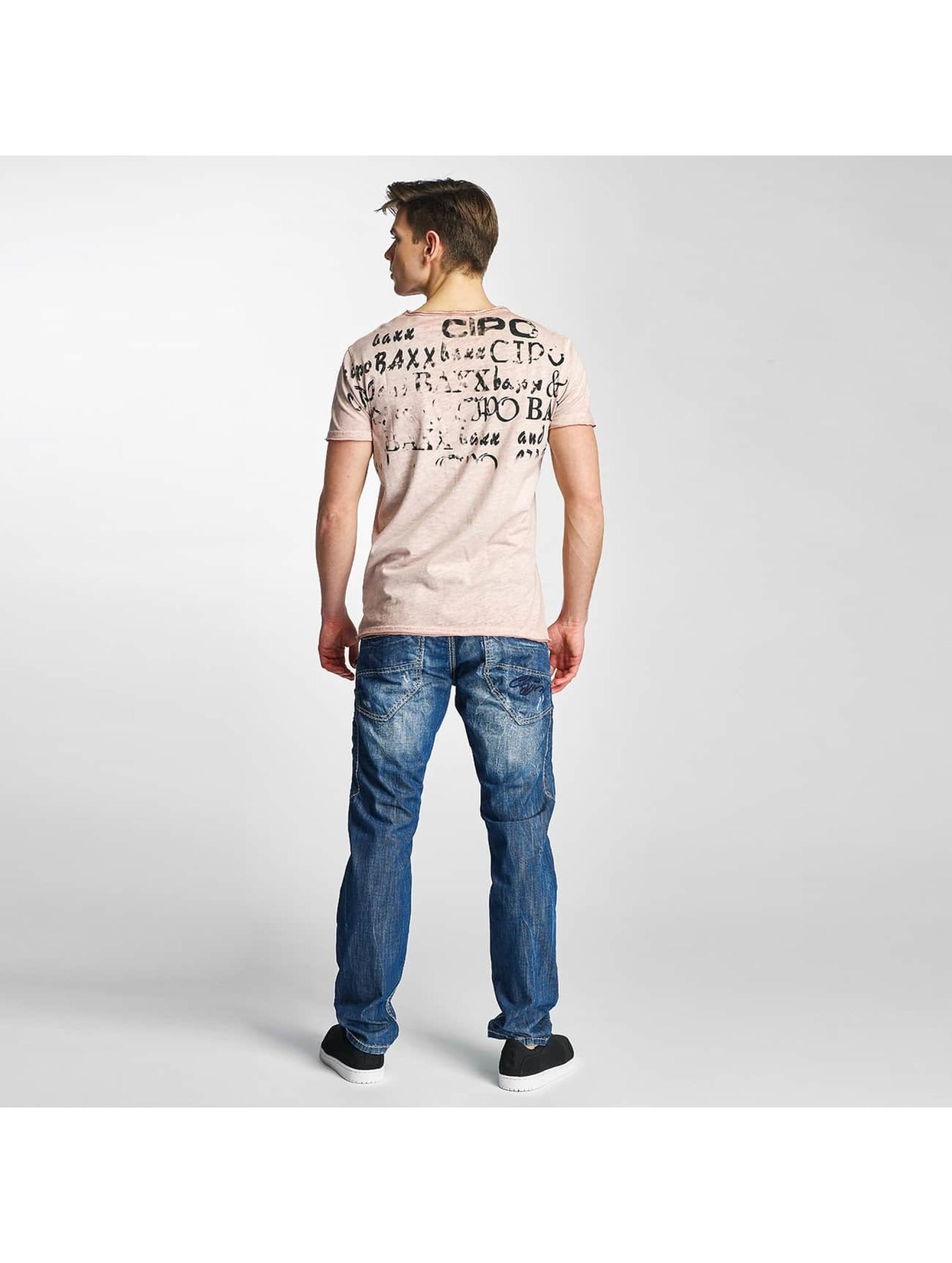 Cipo & Baxx T-Shirt Fritz G rose