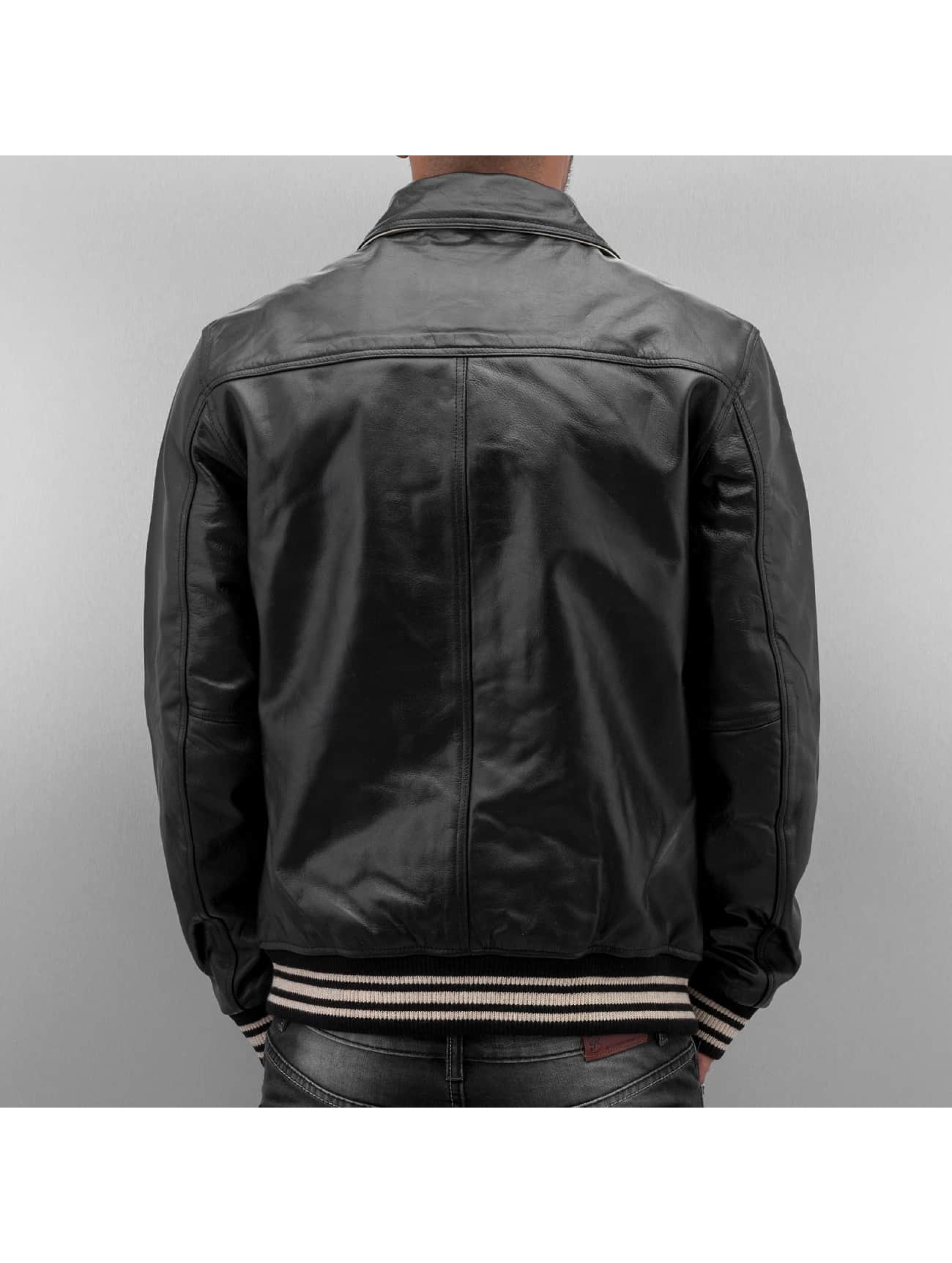 Cordon Leather Jacket Havard black