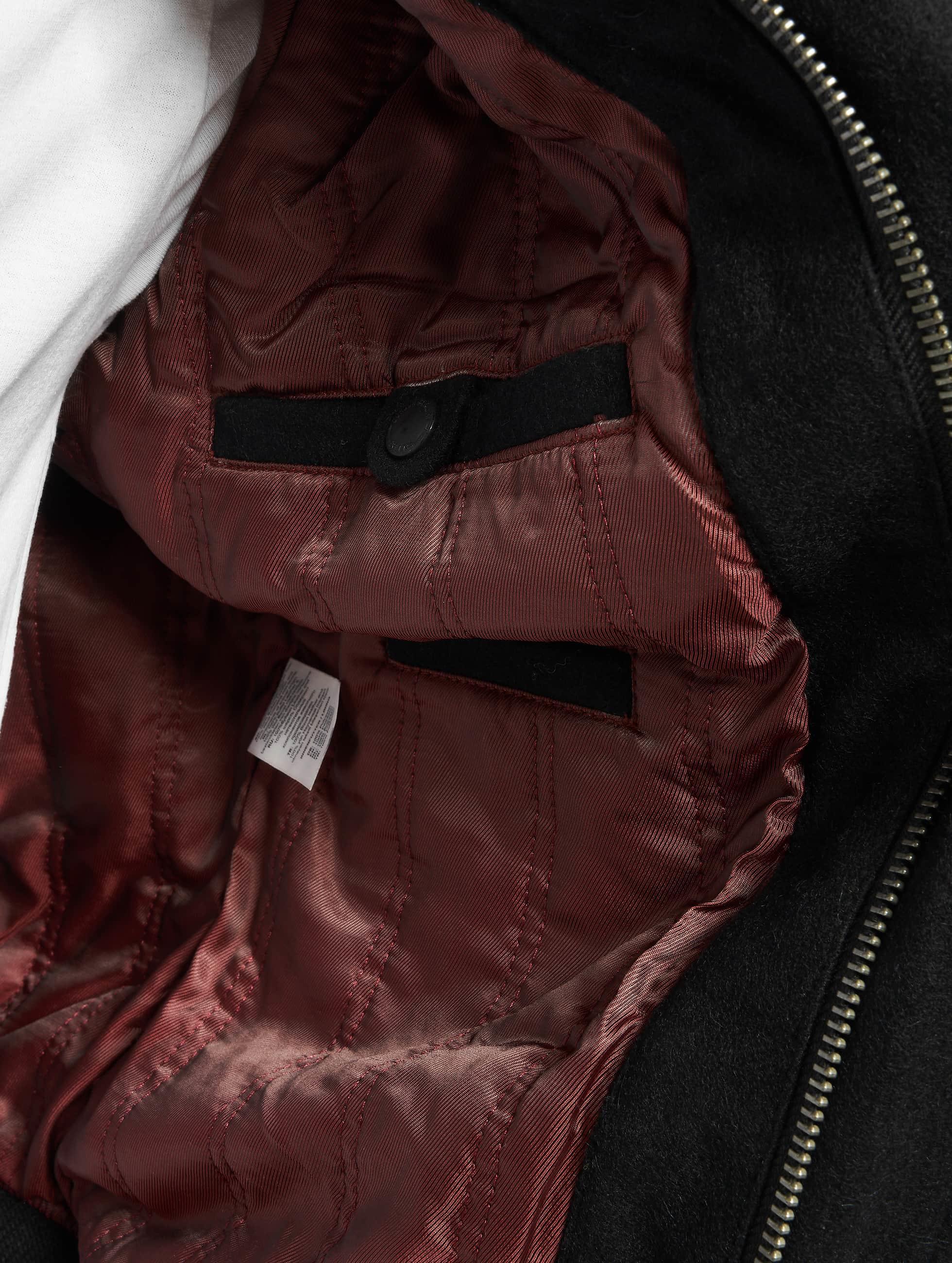 Cordon Leather Jacket Bronx black