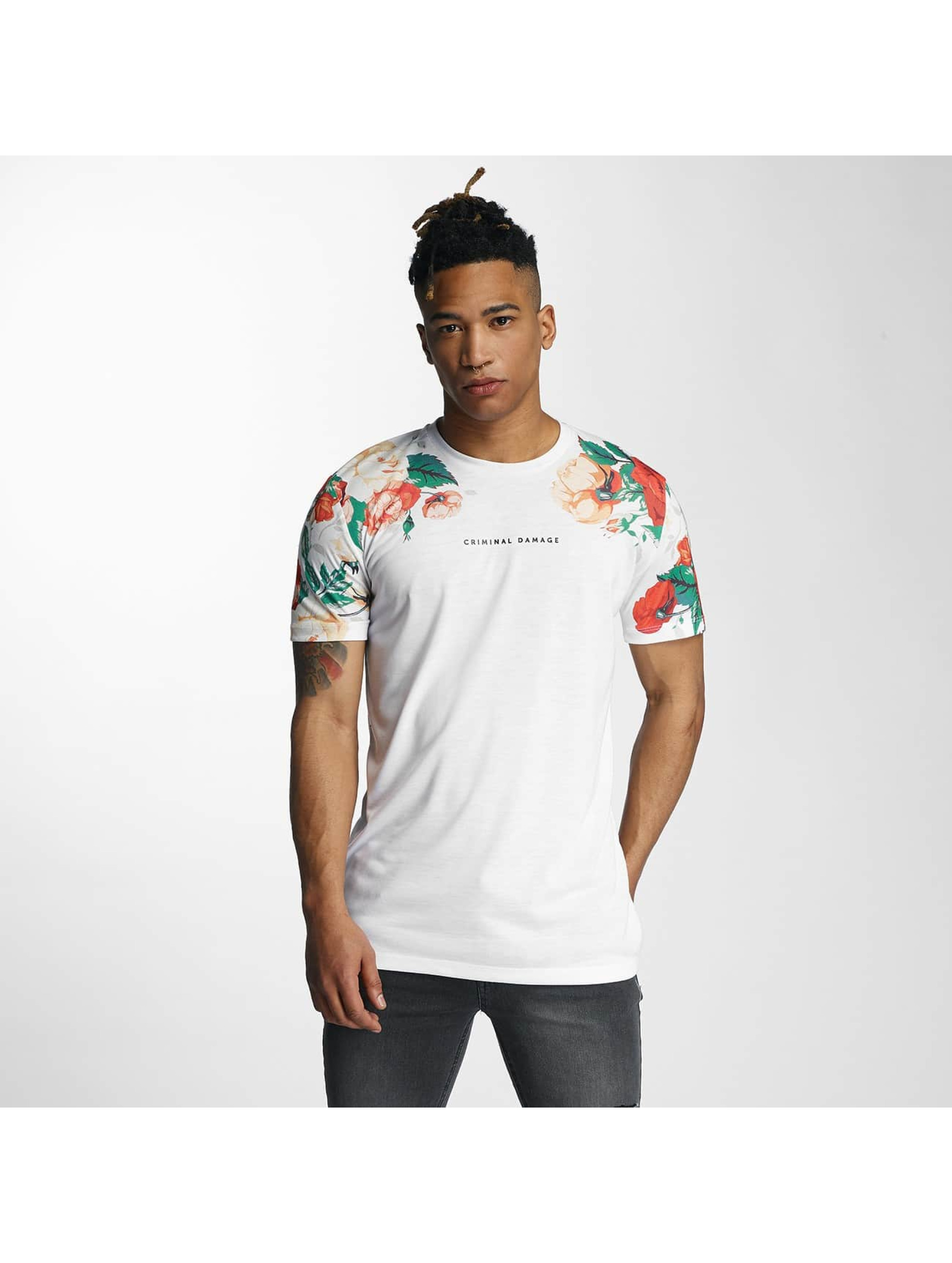 Criminal Damage T-Shirt Hans white