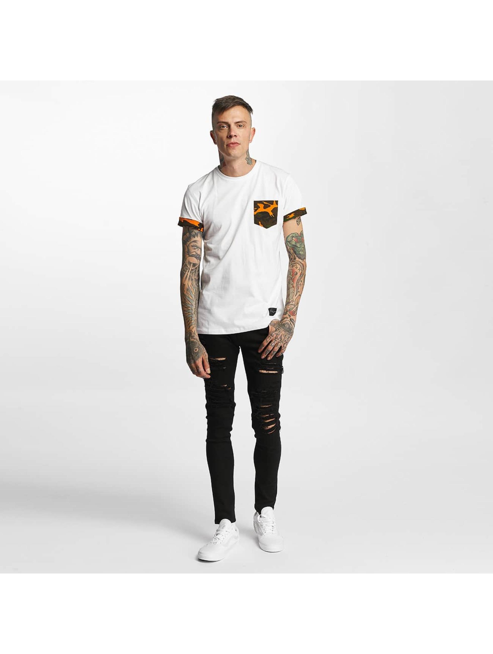 Criminal Damage T-Shirt Dazzle white
