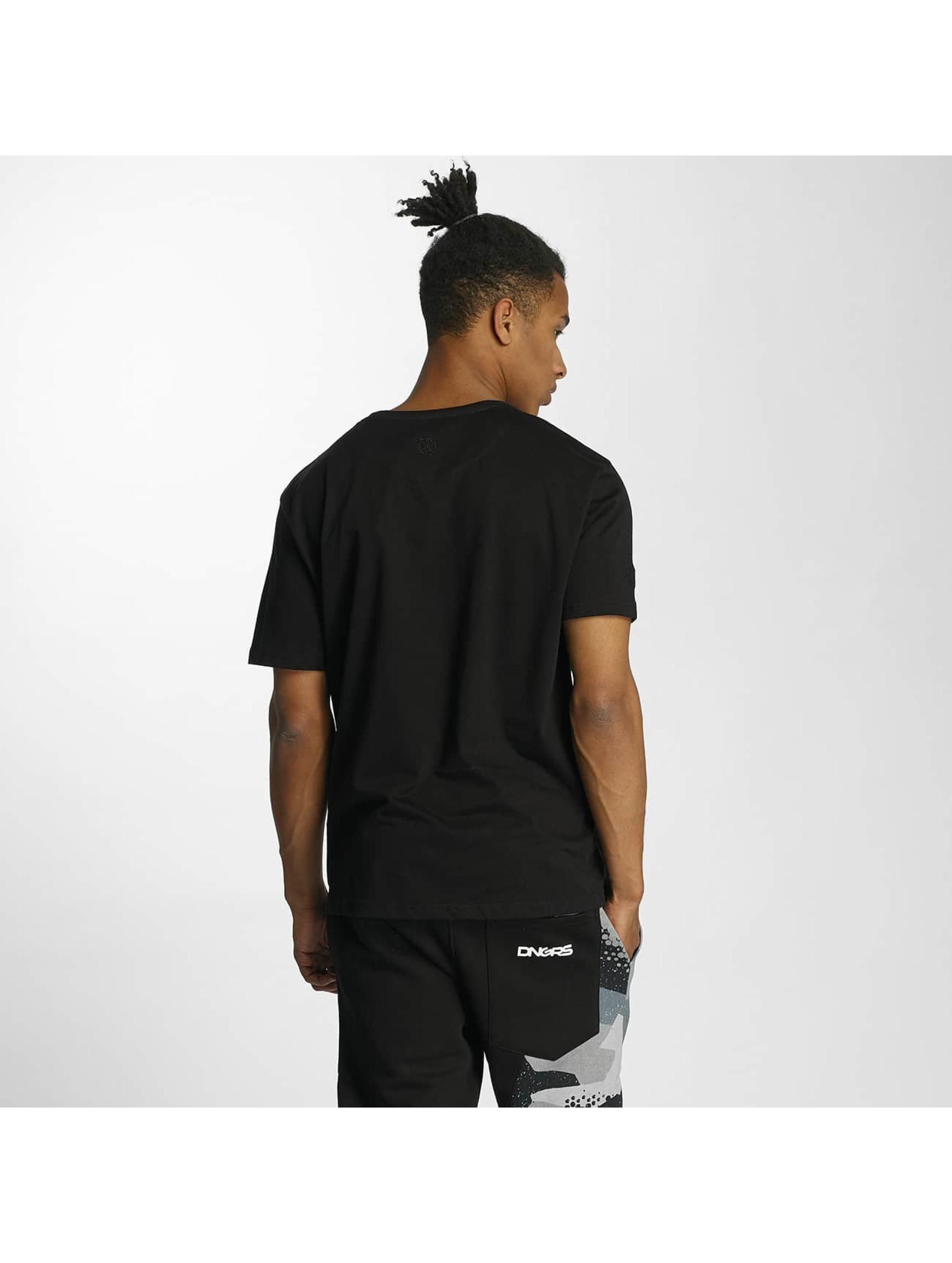 Dangerous DNGRS T-Shirt Scratchwork black