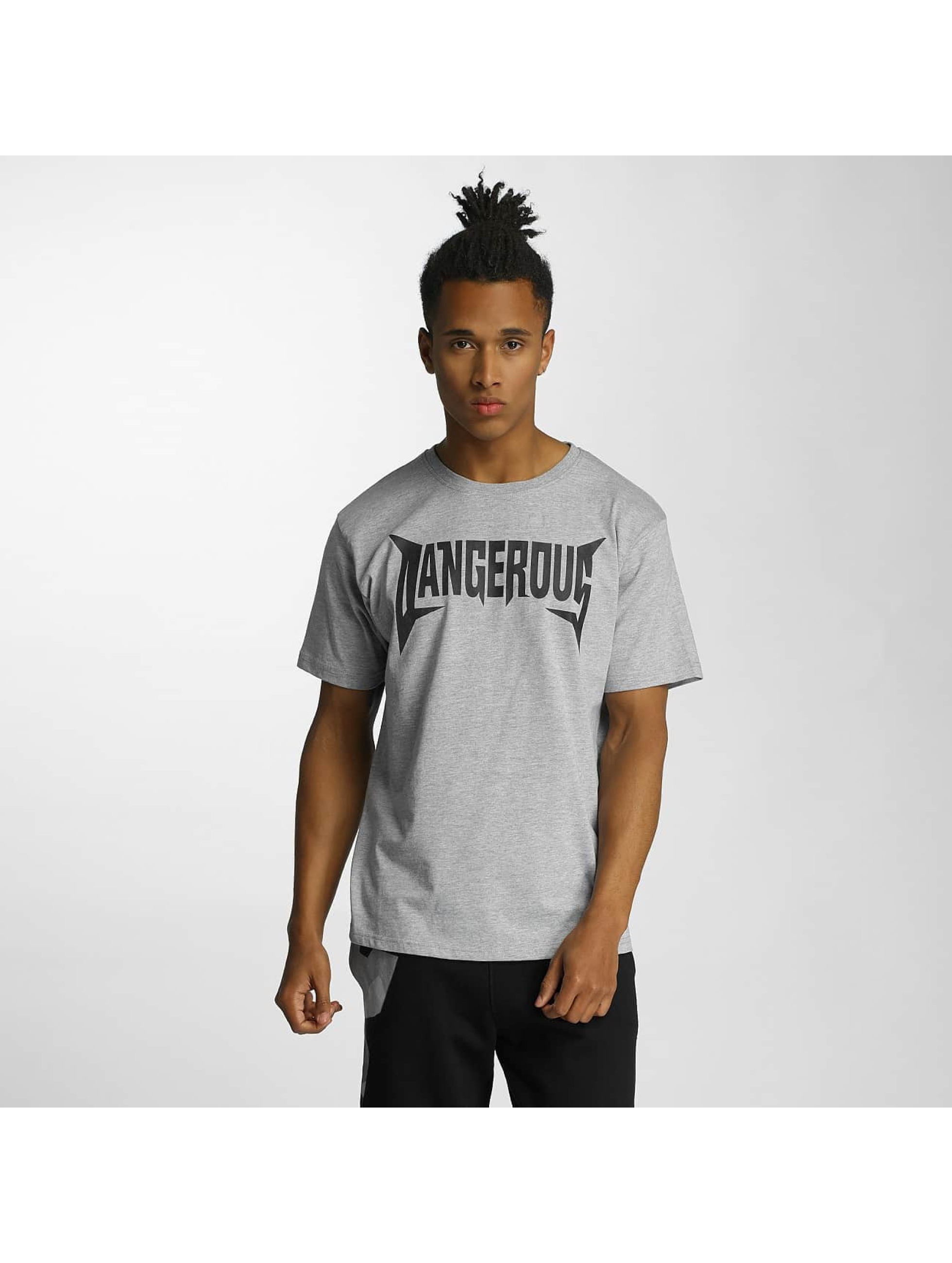 Dangerous DNGRS T-Shirt Methal gray