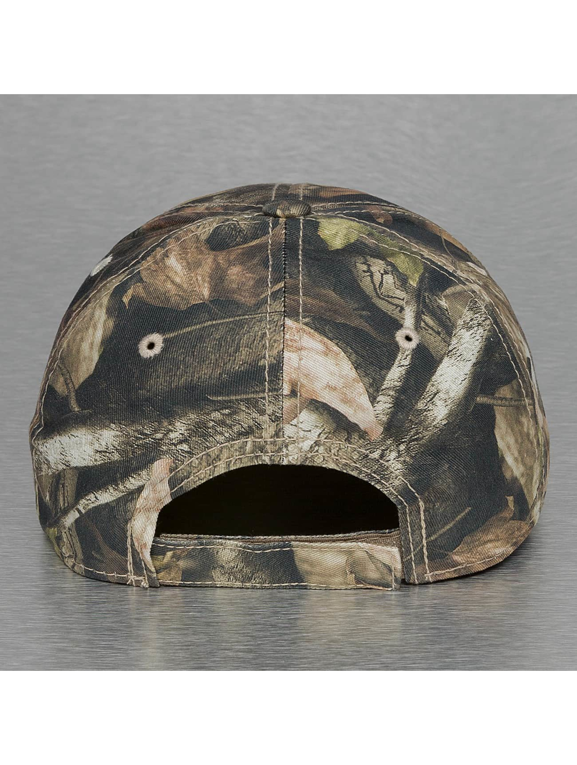 Decky USA Snapback Cap Low Crow Structured Hybricam camouflage