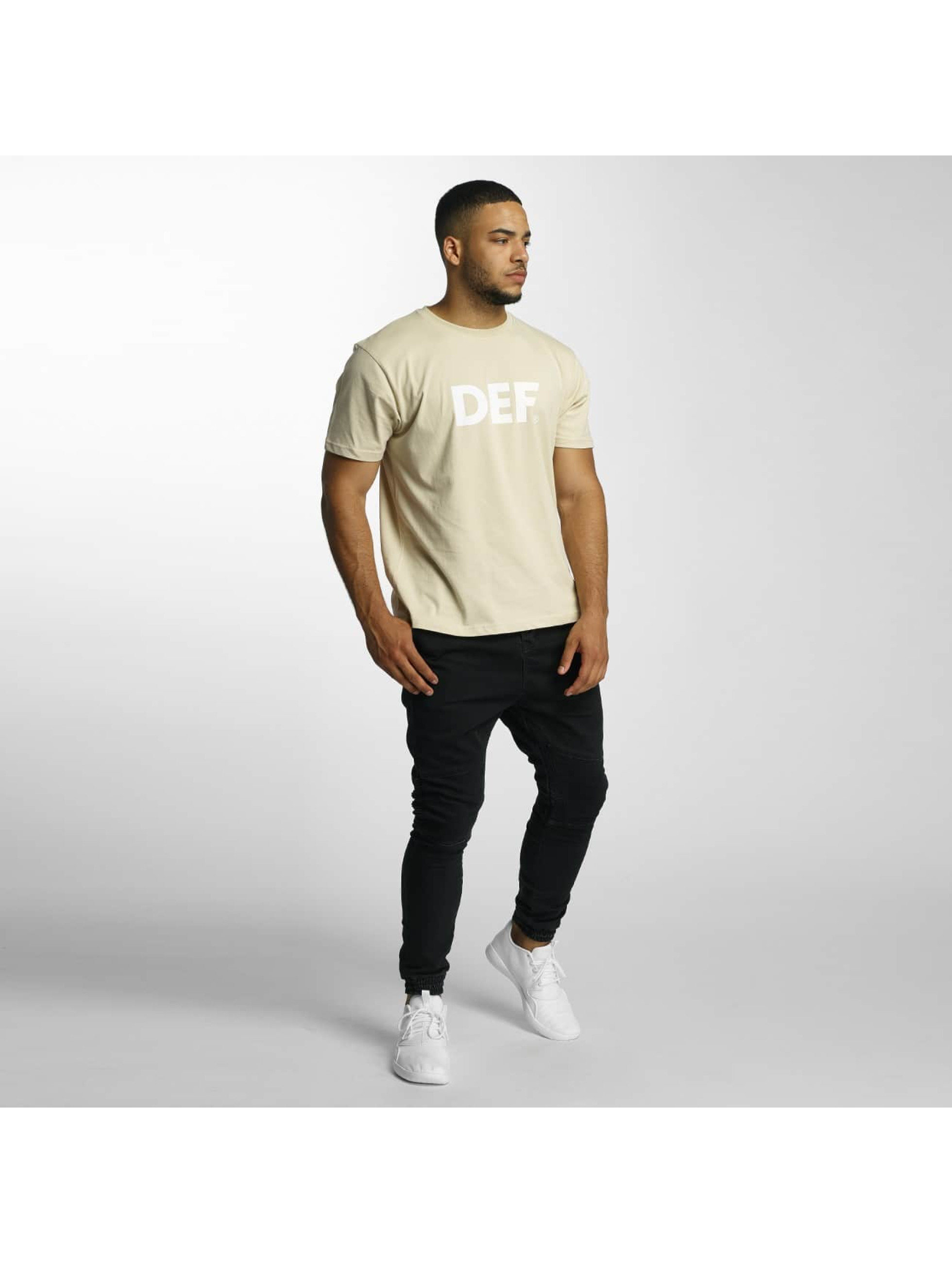 DEF T-Shirt Her Secret beige