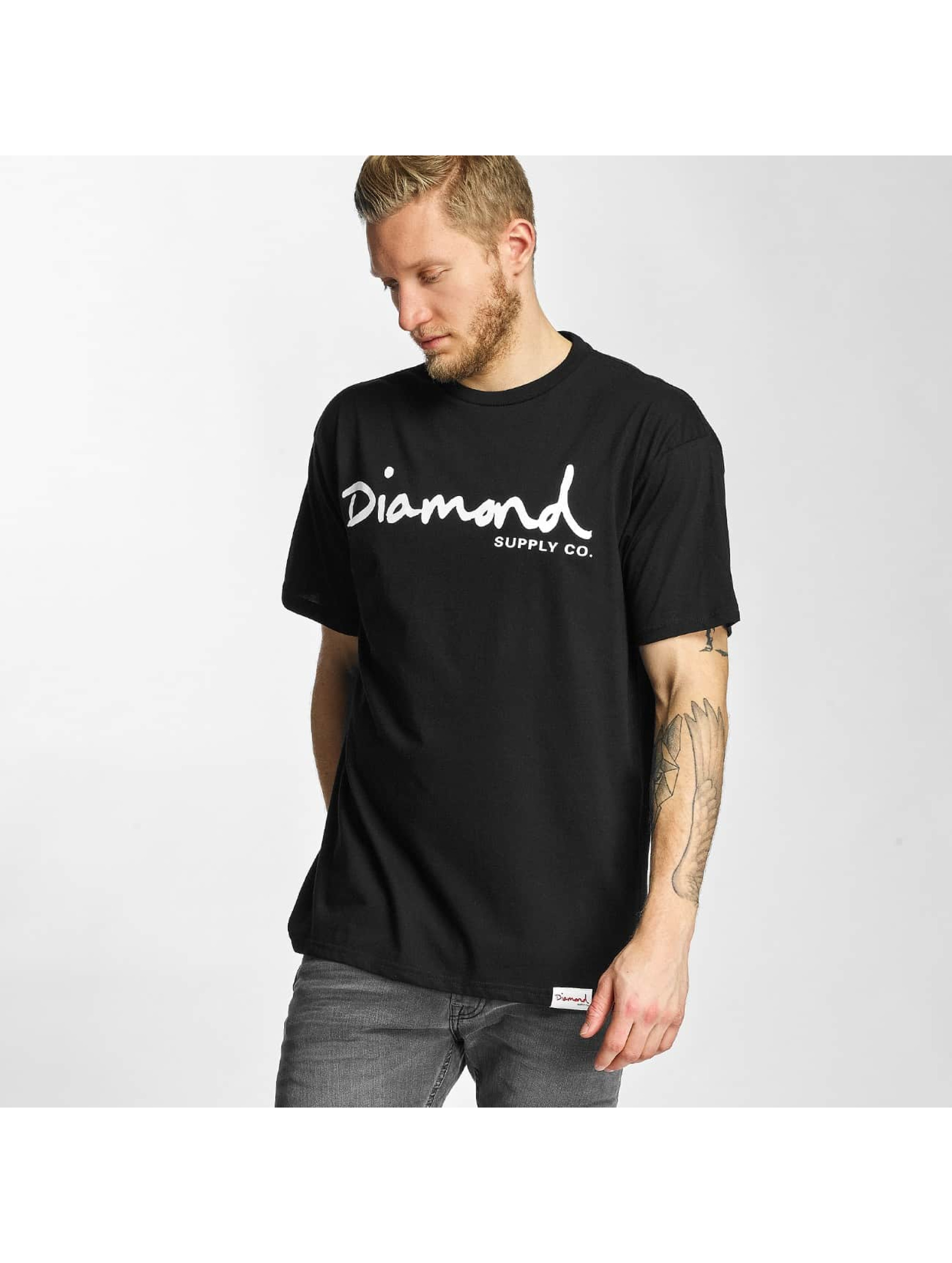 Diamond T-Shirt OG Script black