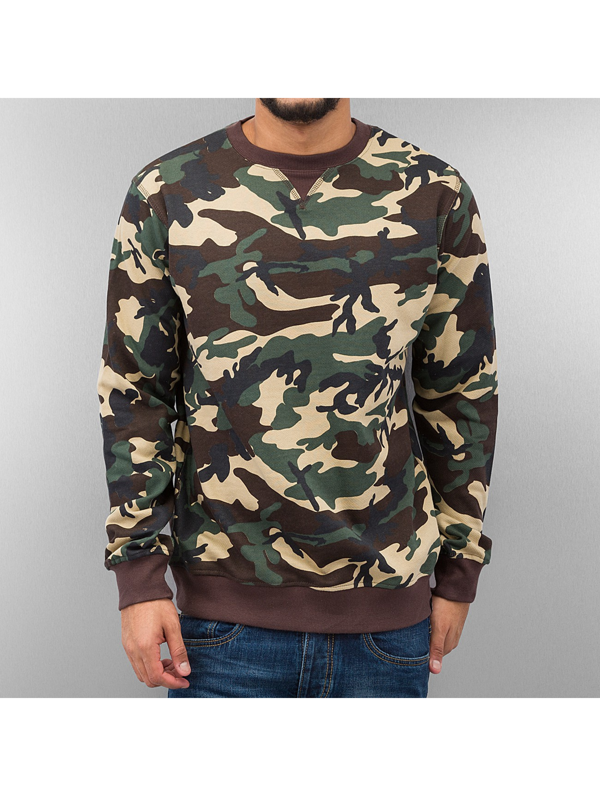 dickies herren pullover washington in camouflage 164165. Black Bedroom Furniture Sets. Home Design Ideas