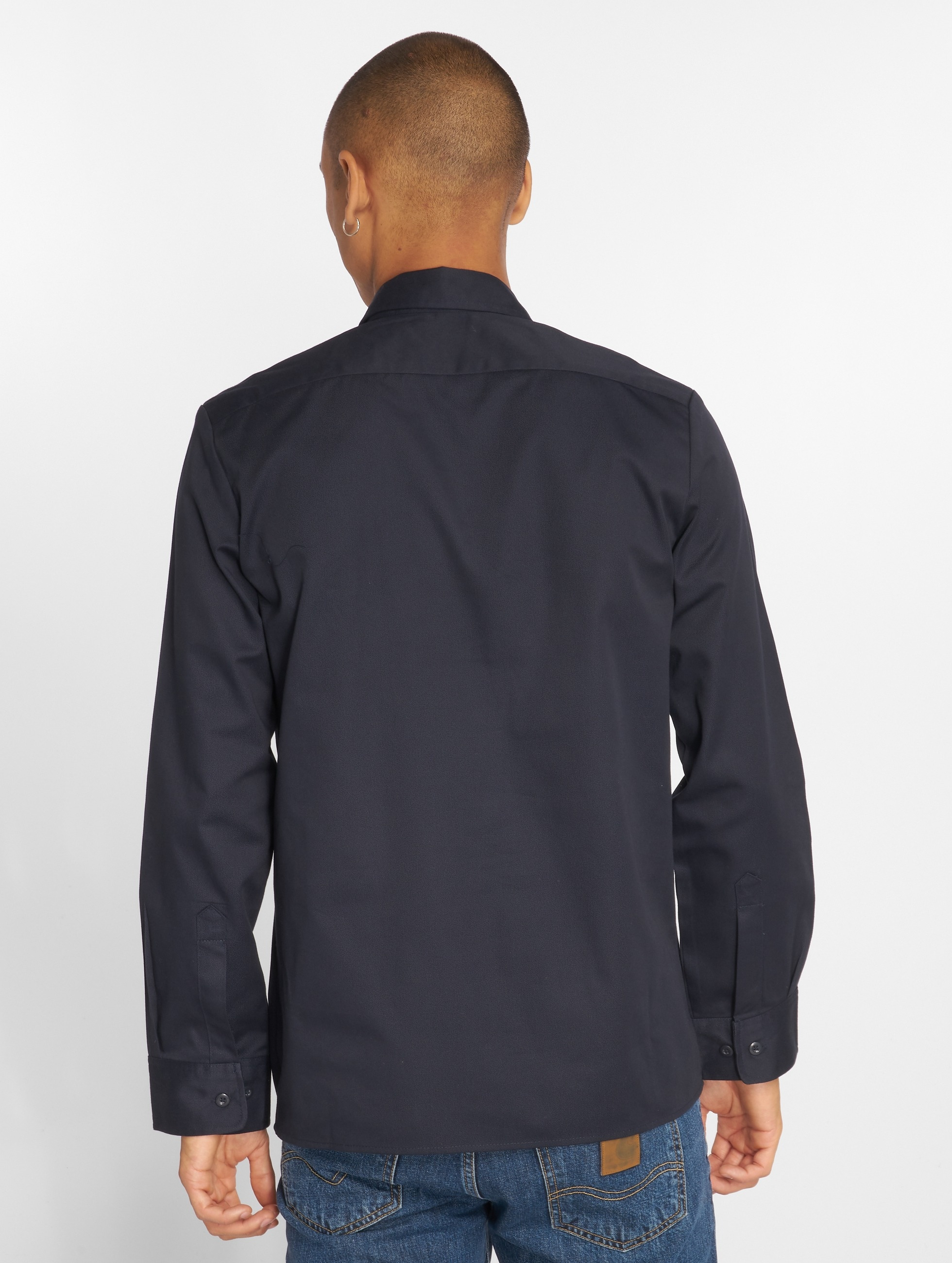 Dickies Shirt Longsleeve blue