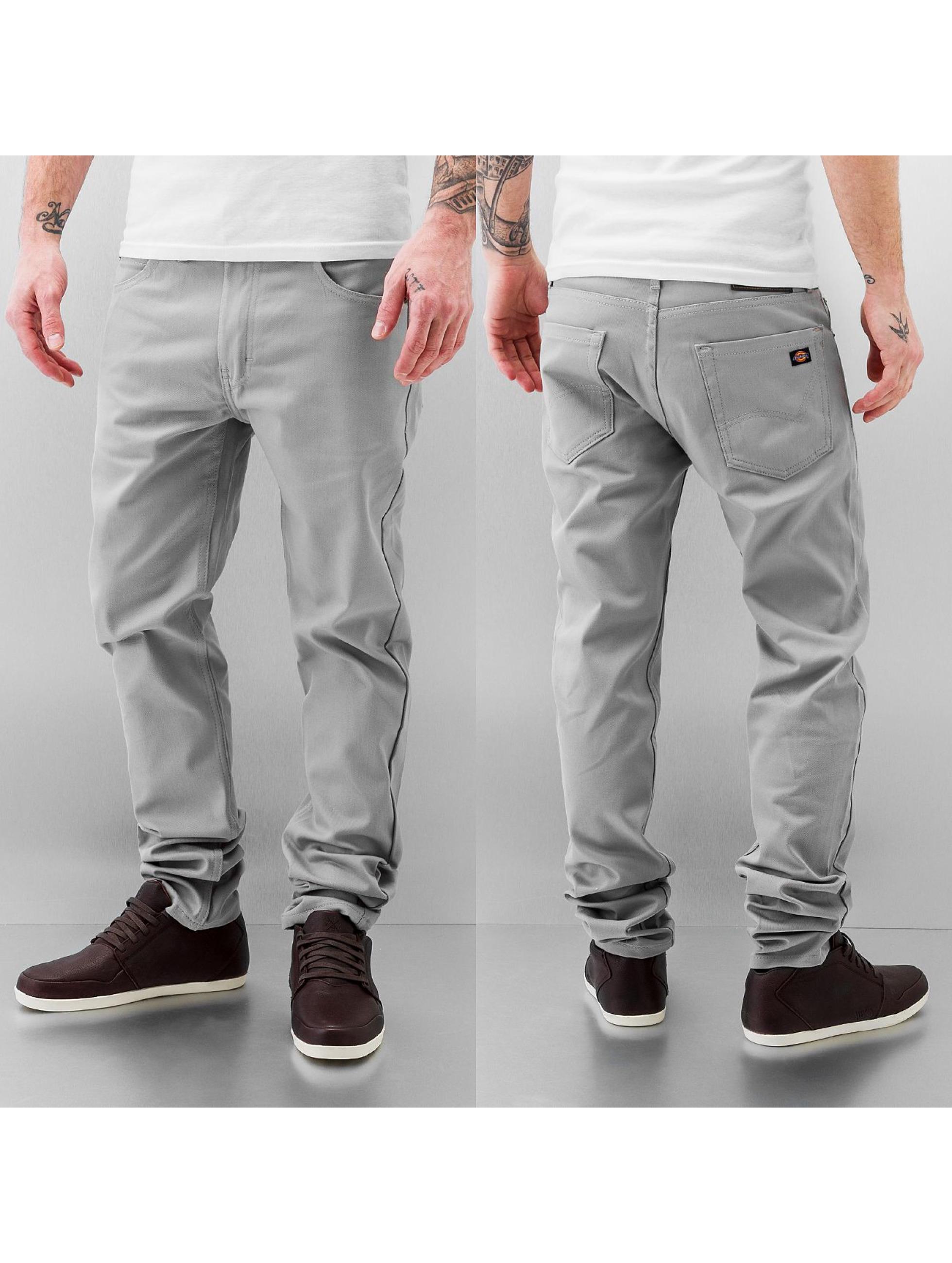 dickies herren skinny jeans slim in grau 122830. Black Bedroom Furniture Sets. Home Design Ideas
