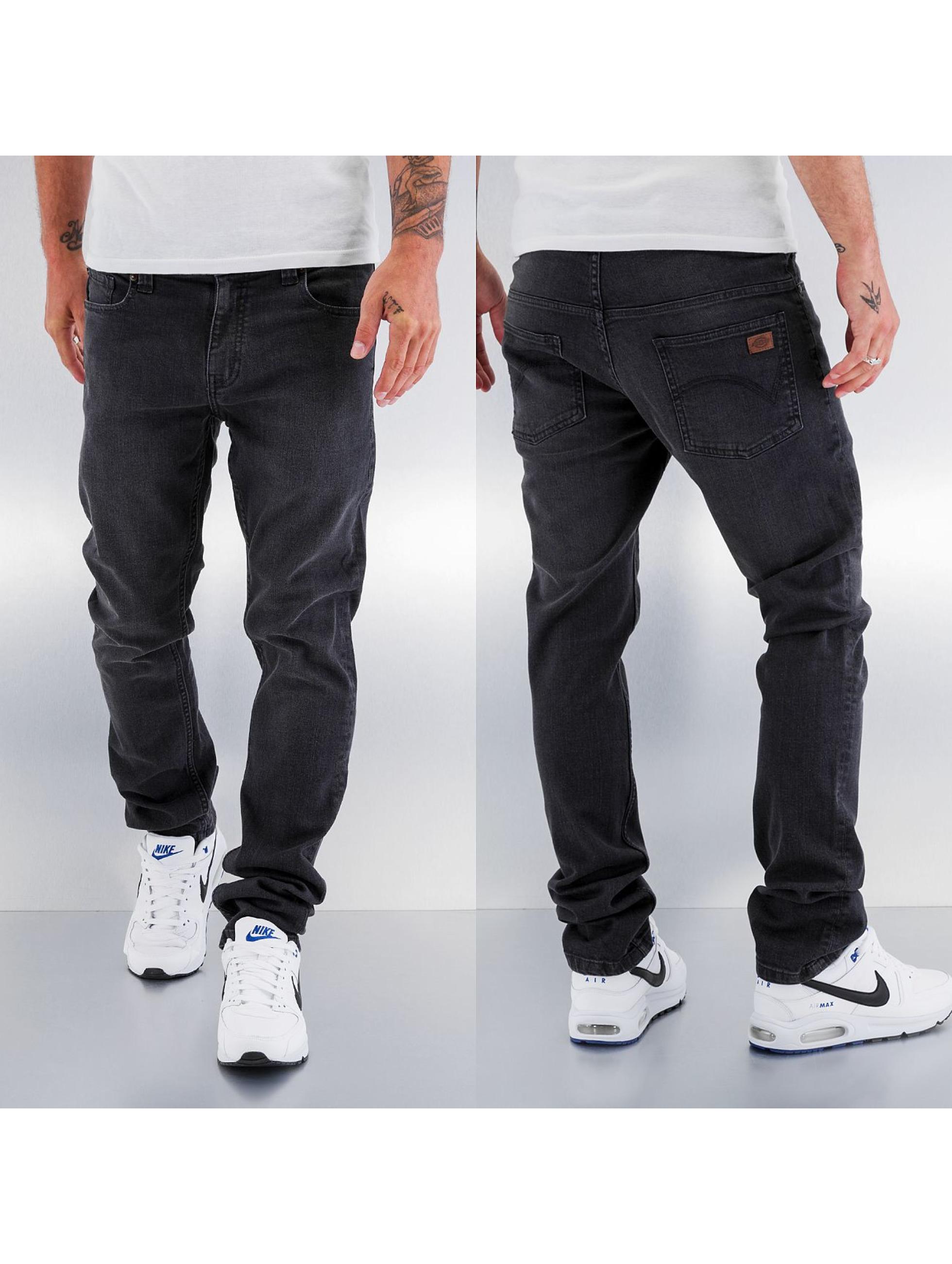 dickies herren skinny jeans louisiana in grau 131605. Black Bedroom Furniture Sets. Home Design Ideas