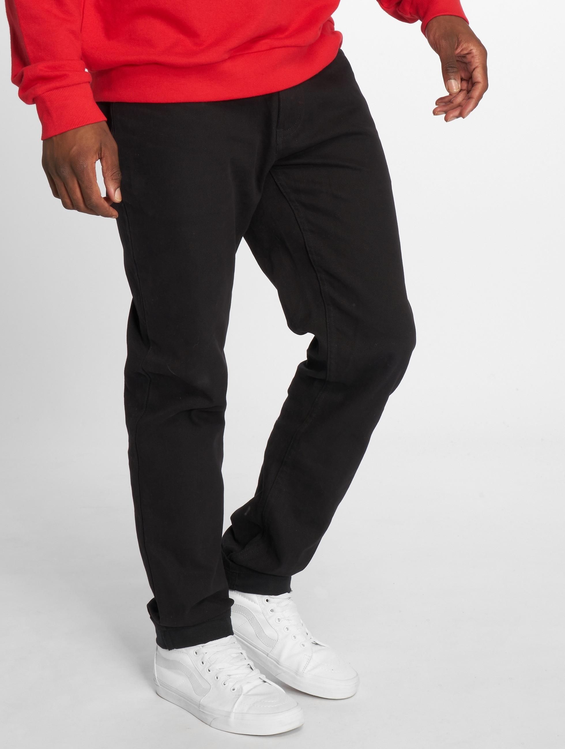 dickies herren skinny jeans louisiana in schwarz 103069. Black Bedroom Furniture Sets. Home Design Ideas