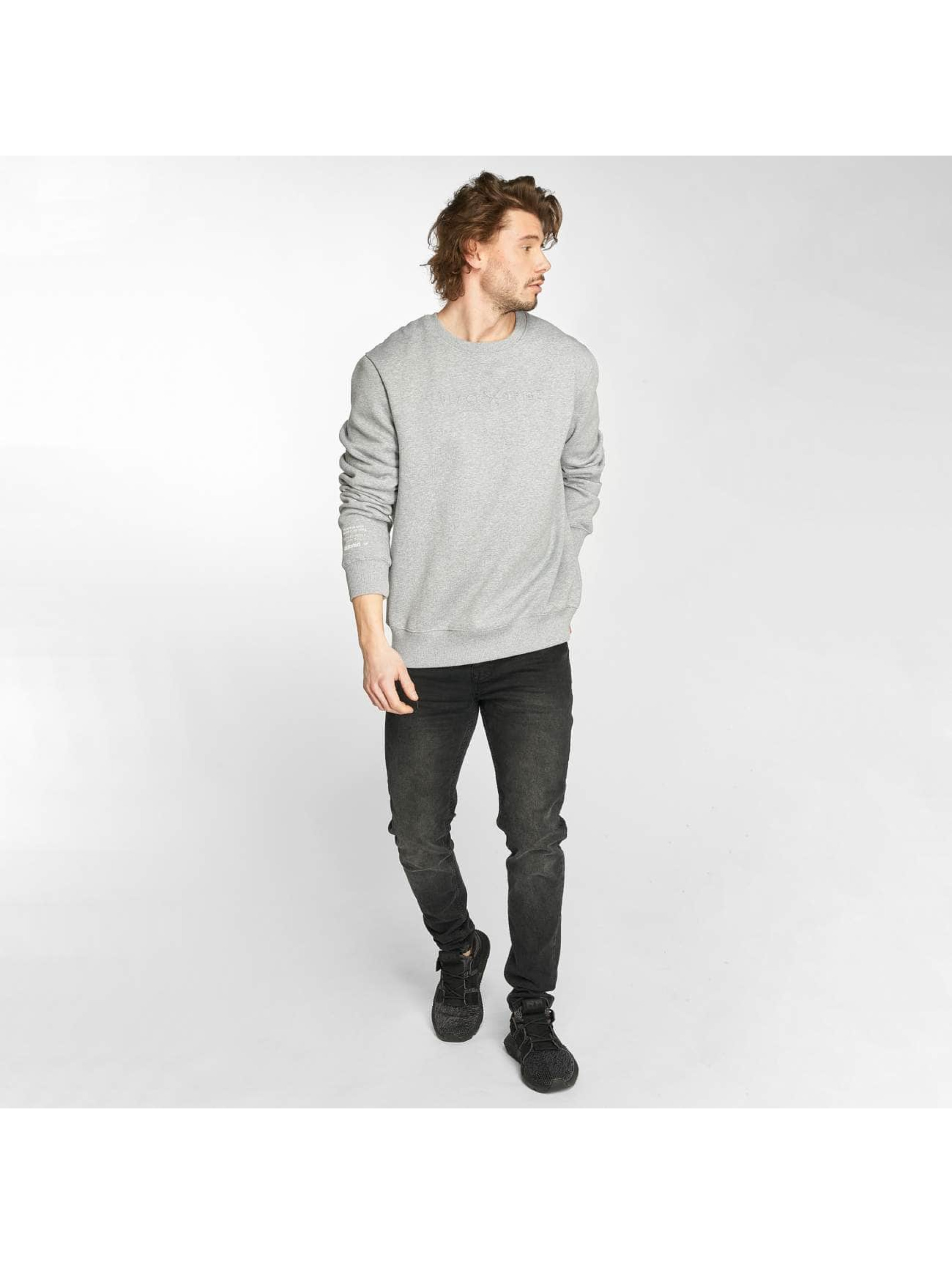 Distorted People Pullover Tribe gray
