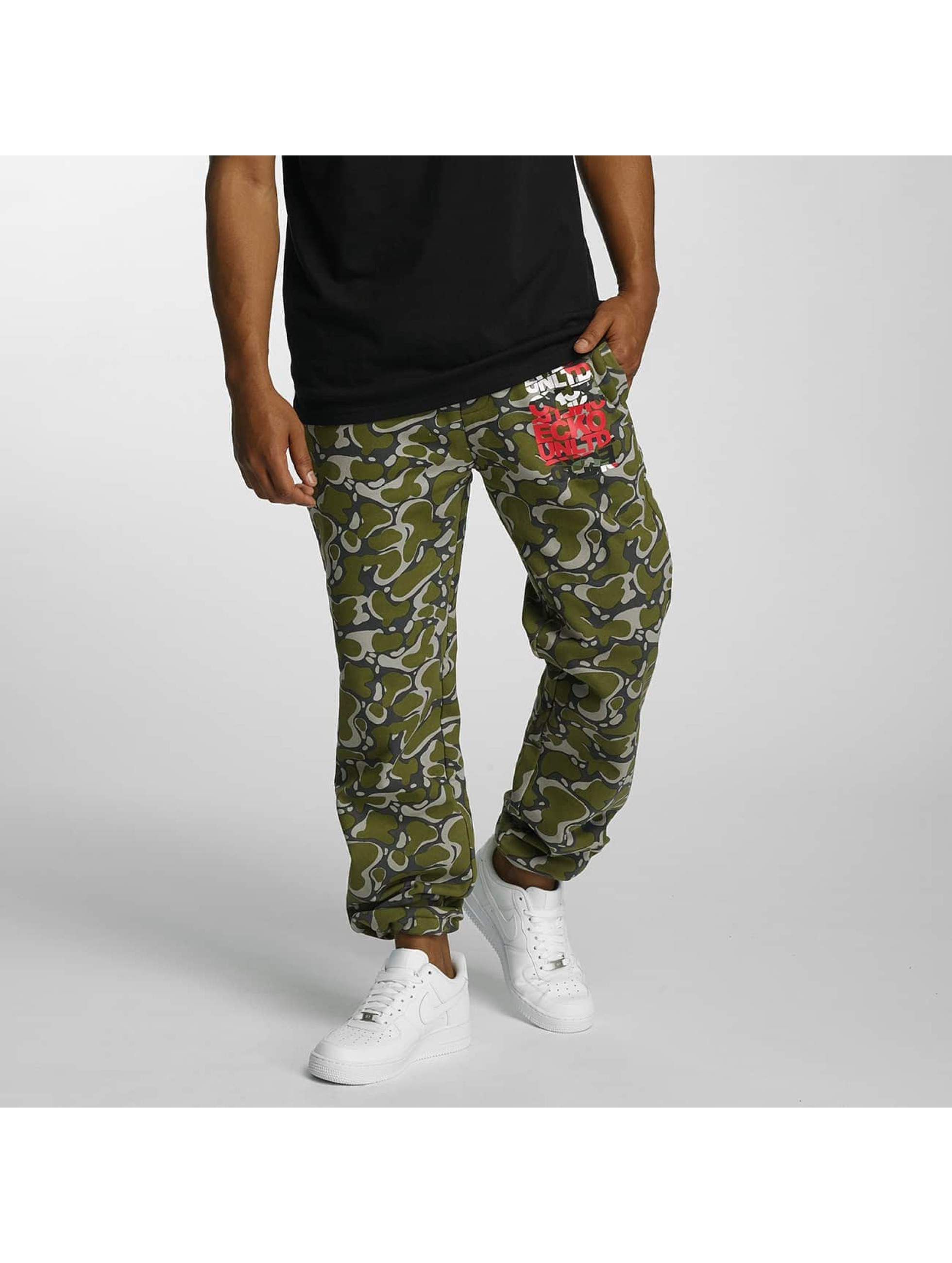 Joggingbroek Groen.Ecko Unltd Broek Joggingbroek Joe In Groen 330456