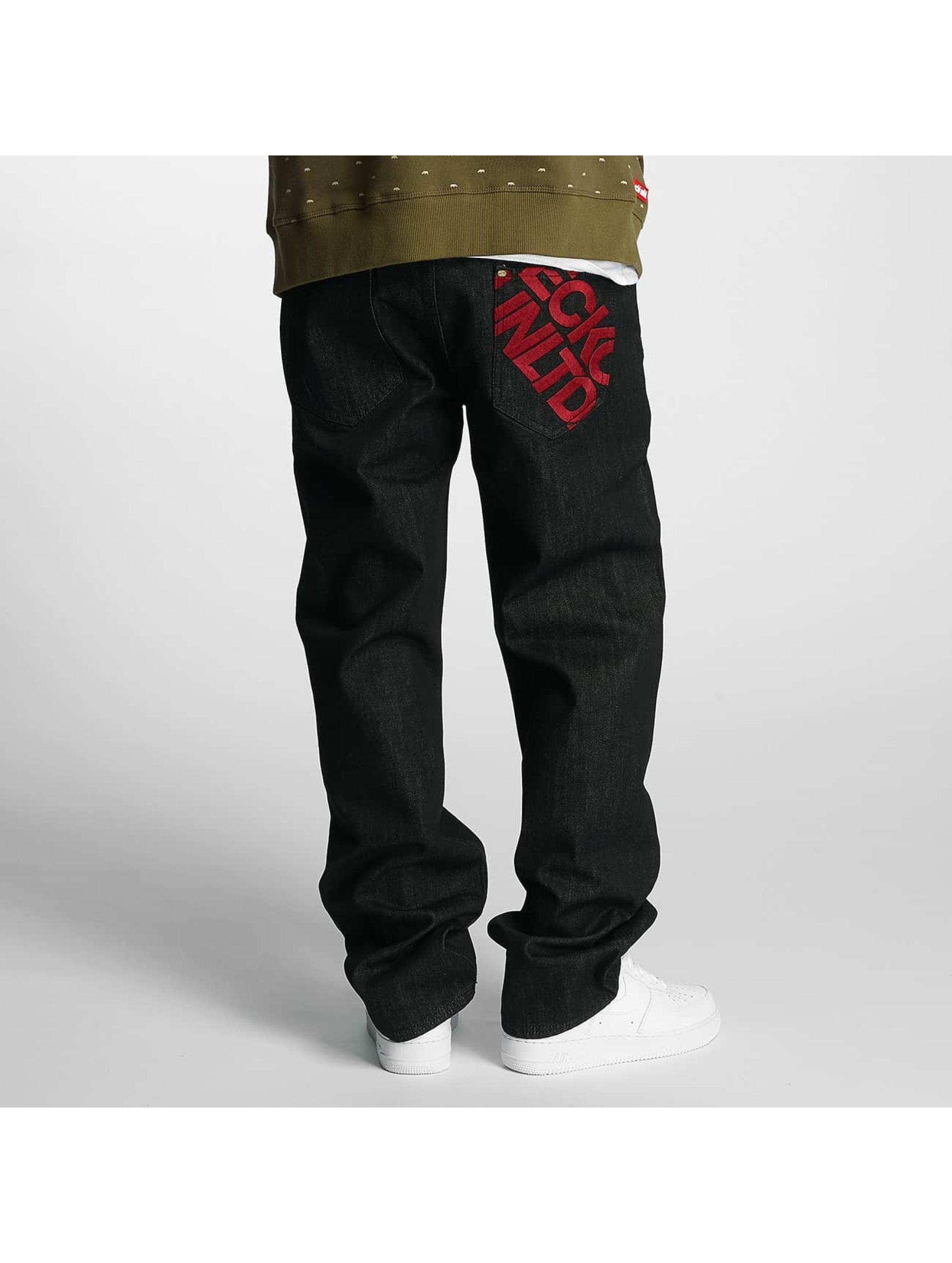 Ecko Unltd. Loose Fit Jeans Gravity black