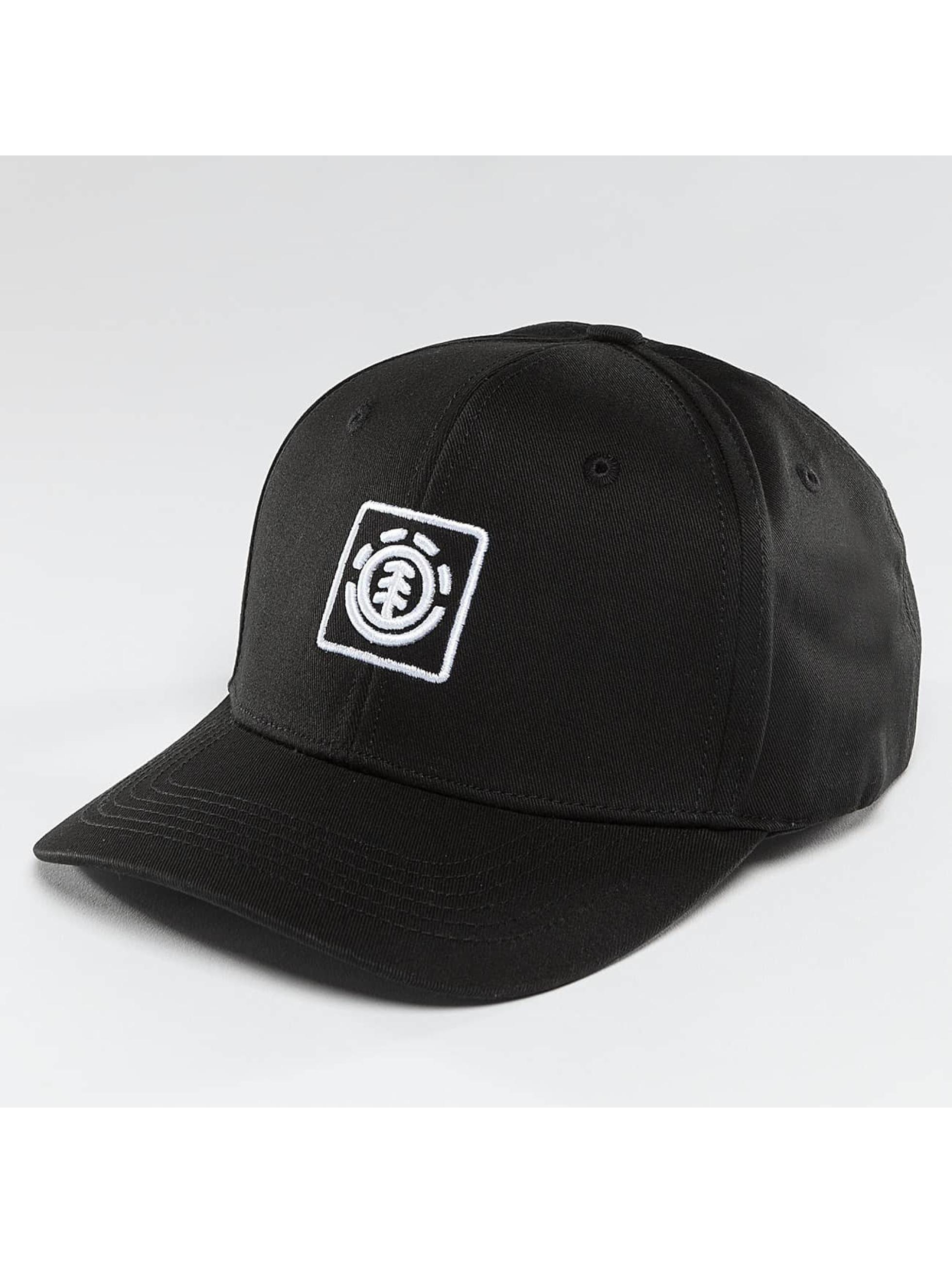 Element Snapback Cap Classic Treelogo black