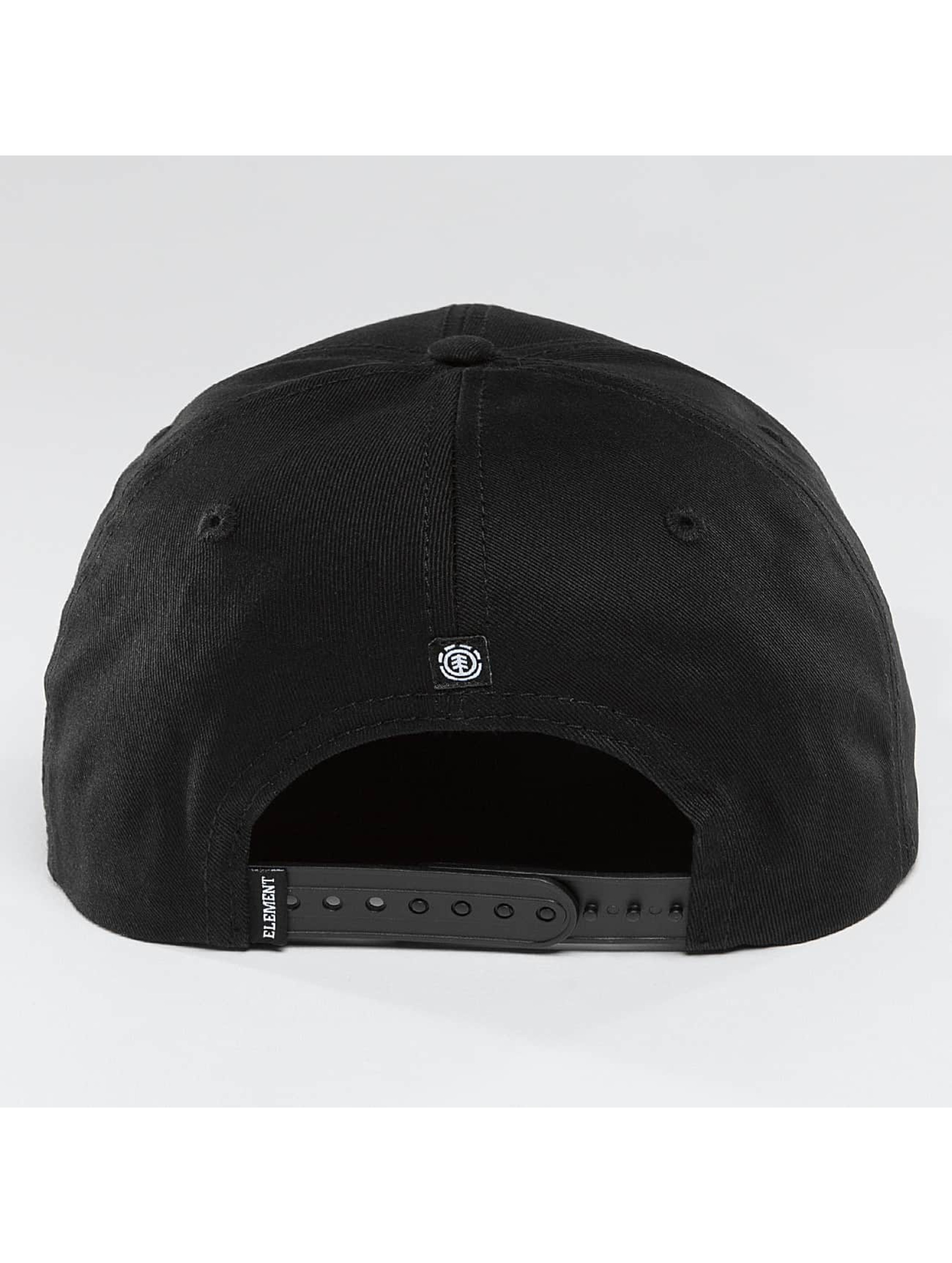 Element Snapback Cap Classic Knutsen black
