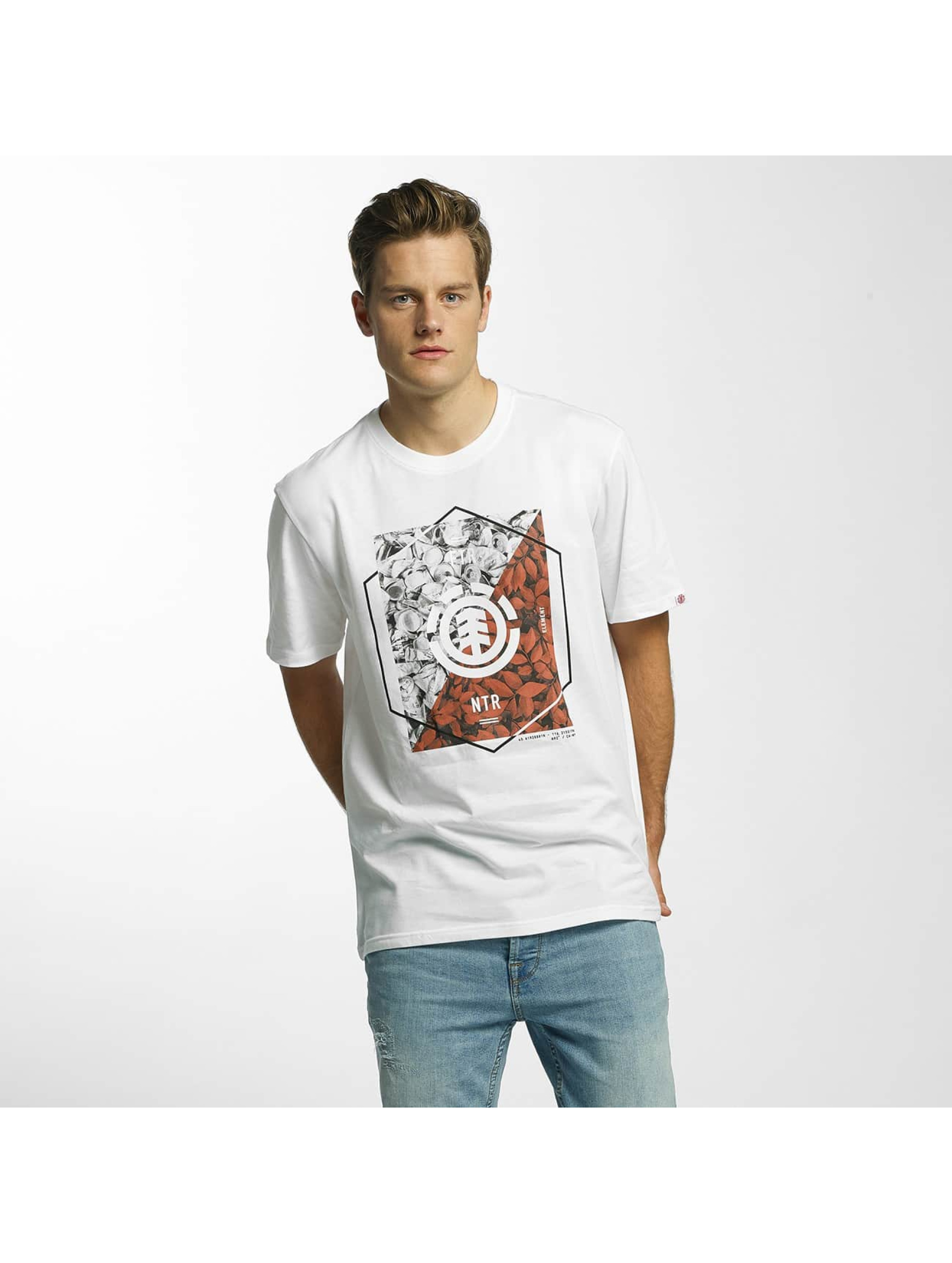 Element T-Shirt Tilt white