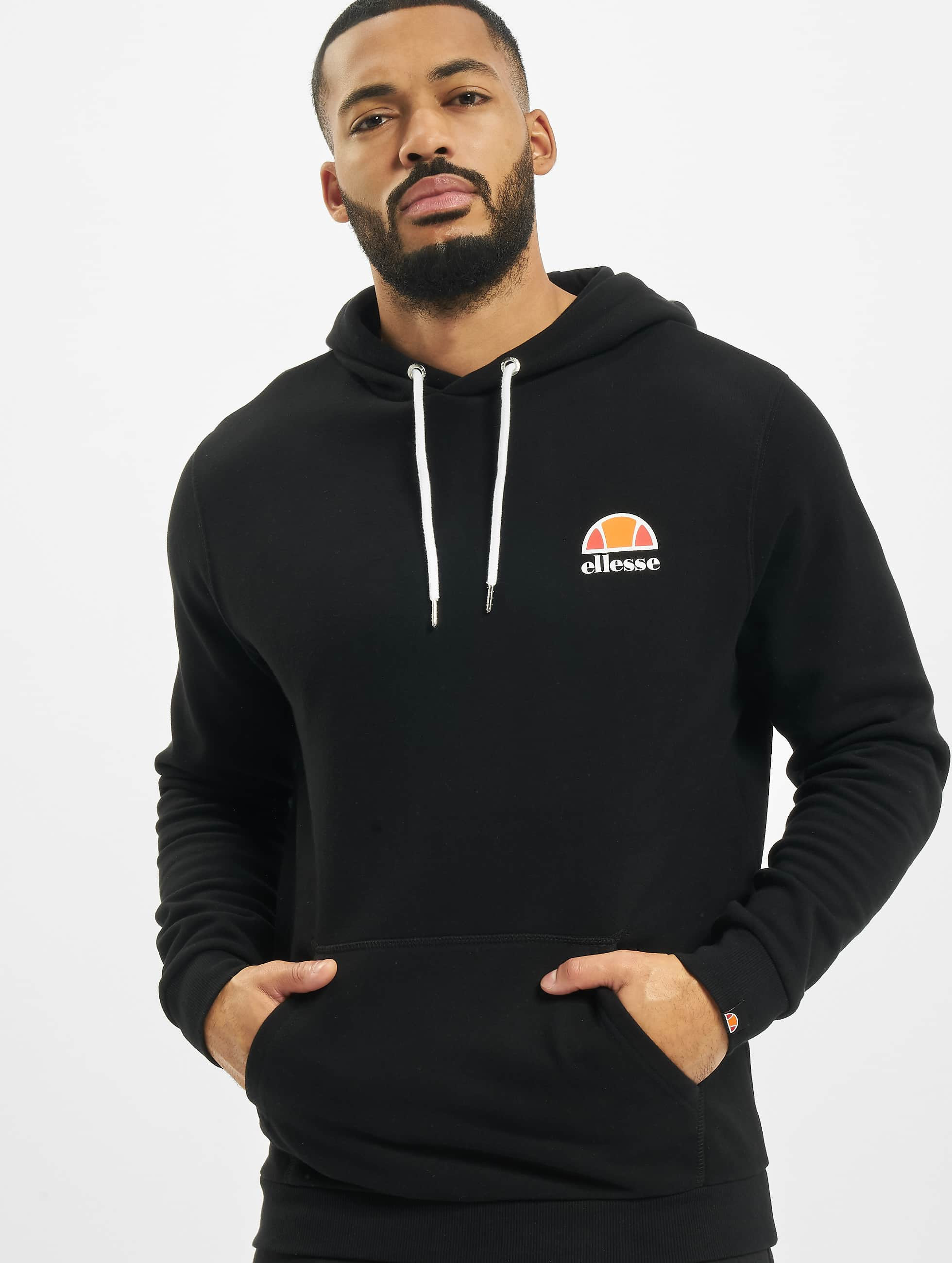 ellesse toce noir homme sweat capuche 333254. Black Bedroom Furniture Sets. Home Design Ideas