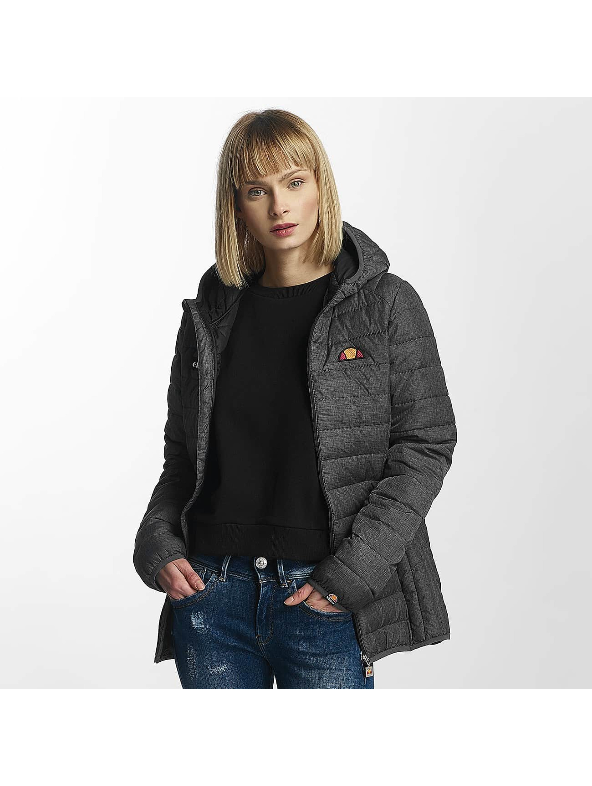 ellesse lompard padded gris femme veste mi saison l g re. Black Bedroom Furniture Sets. Home Design Ideas