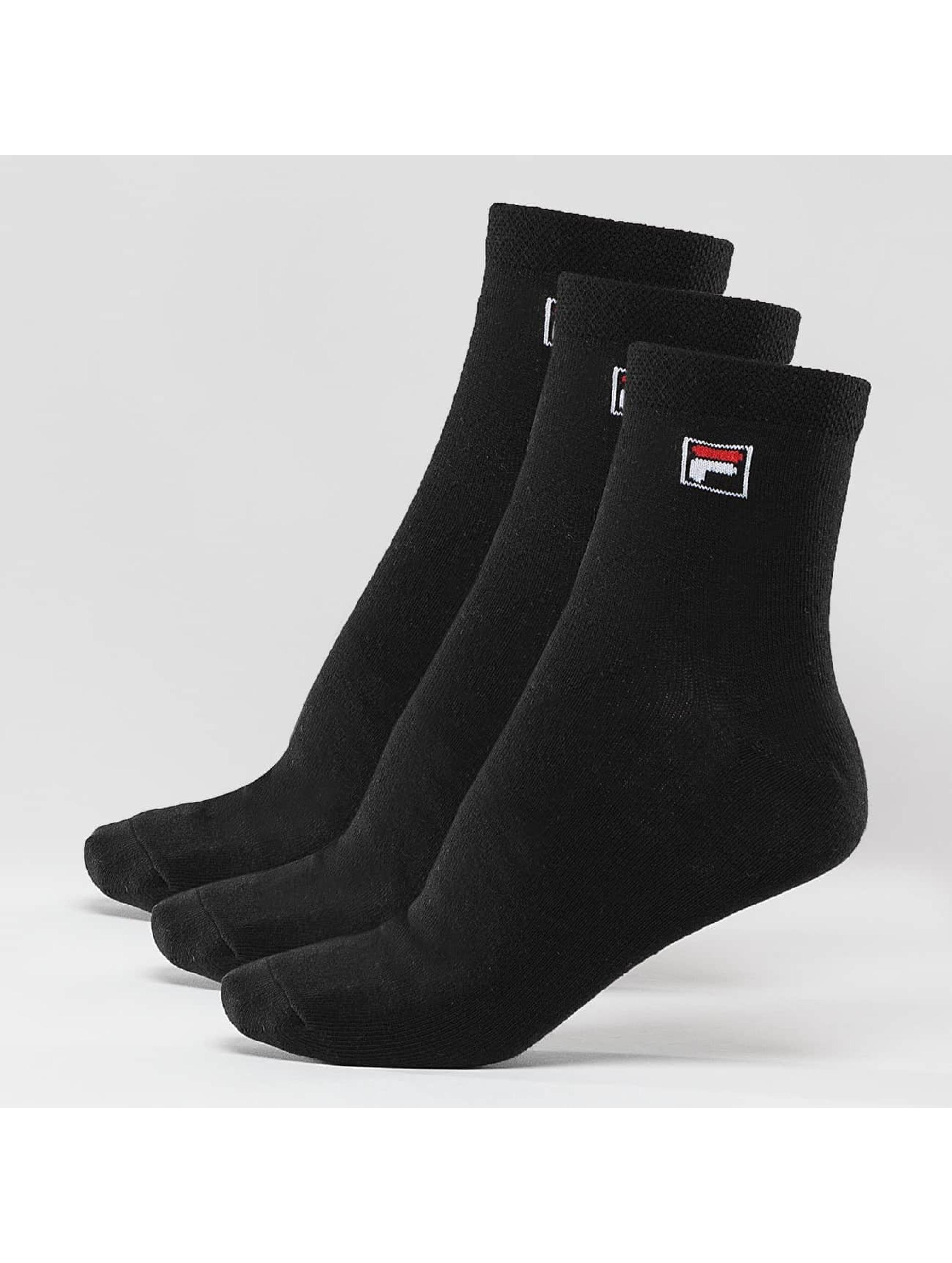 FILA Socks 3-Pack black