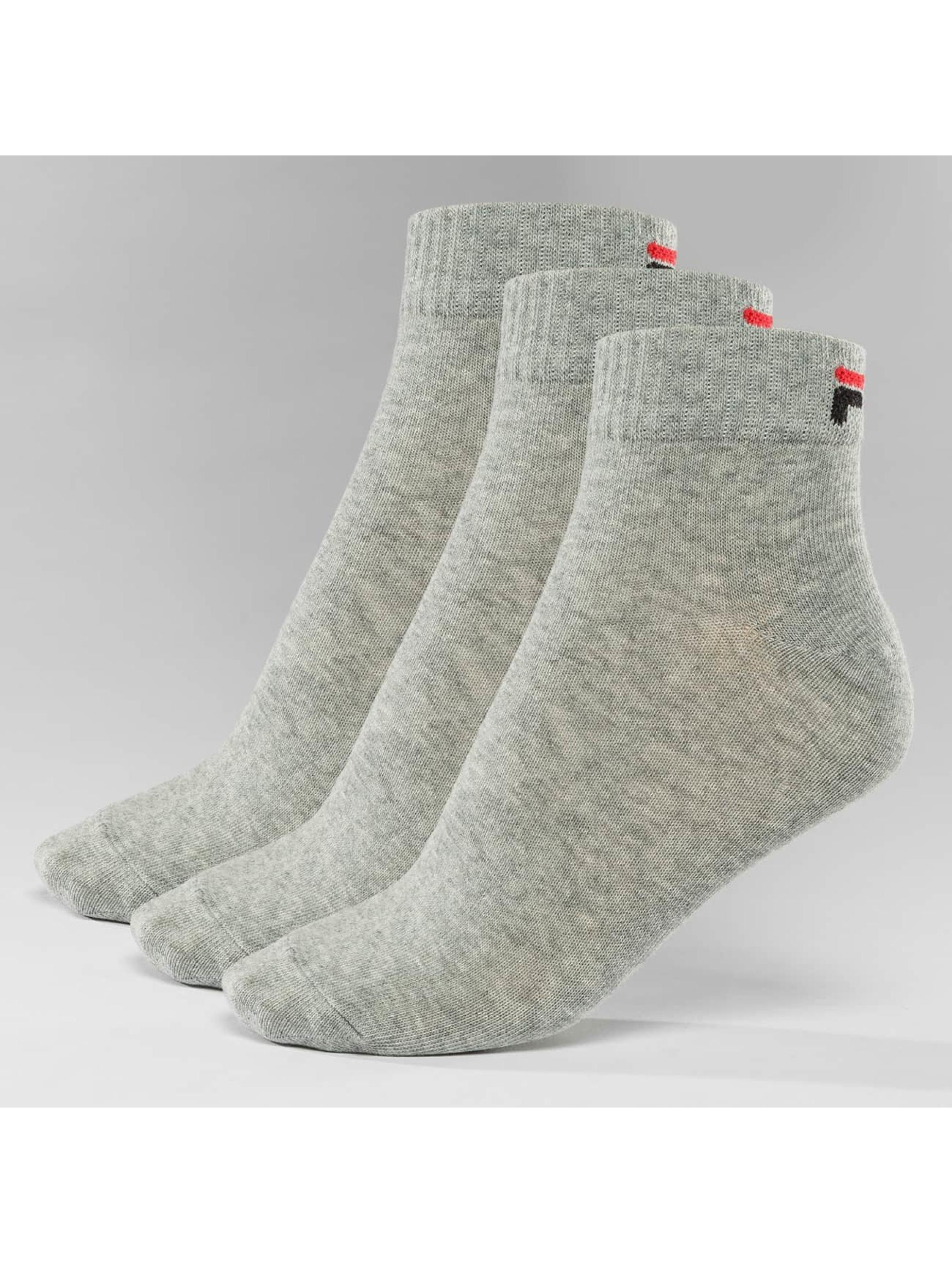FILA Socks 3-Pack Training gray