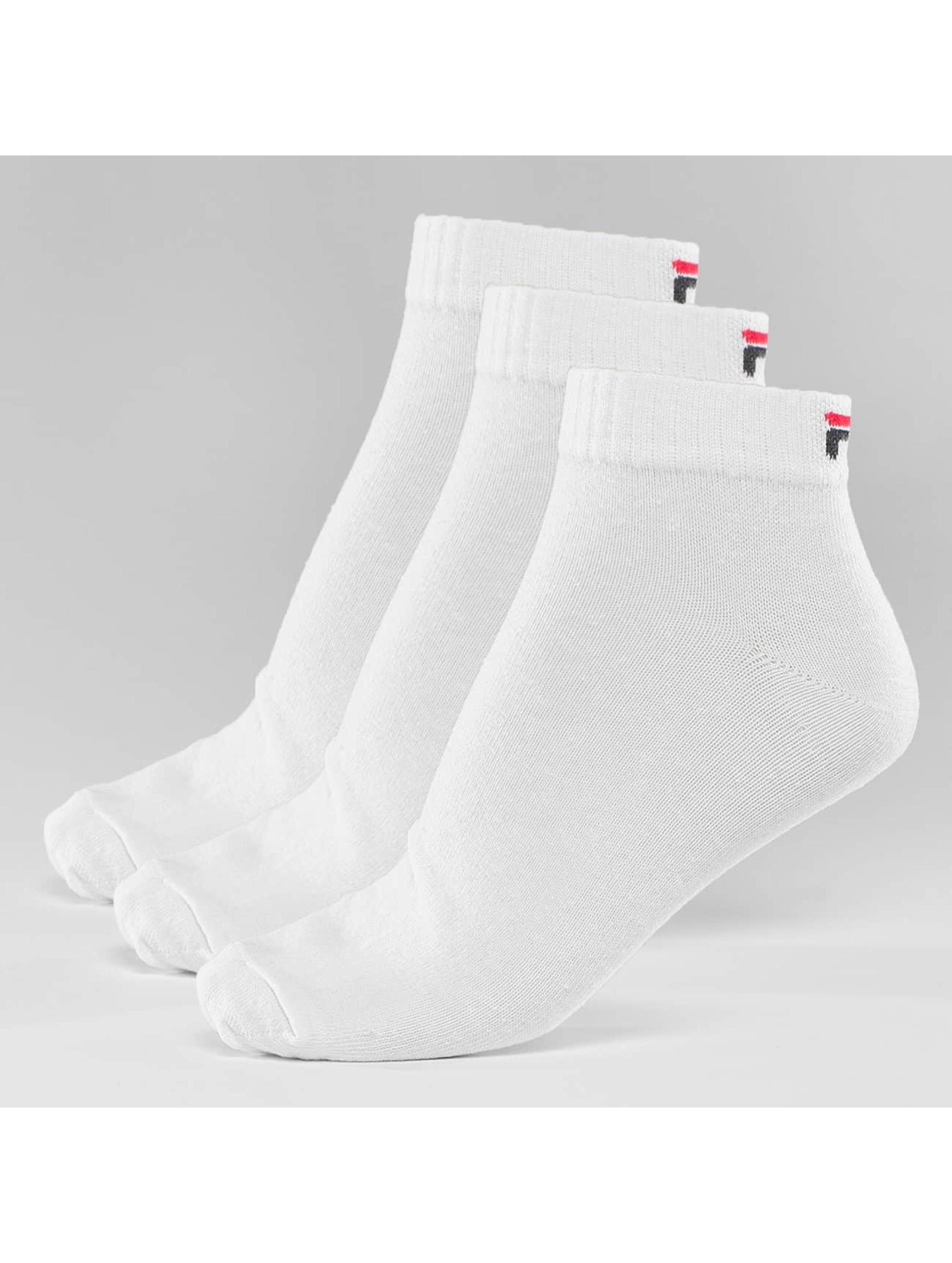FILA Socks 3-Pack Training white