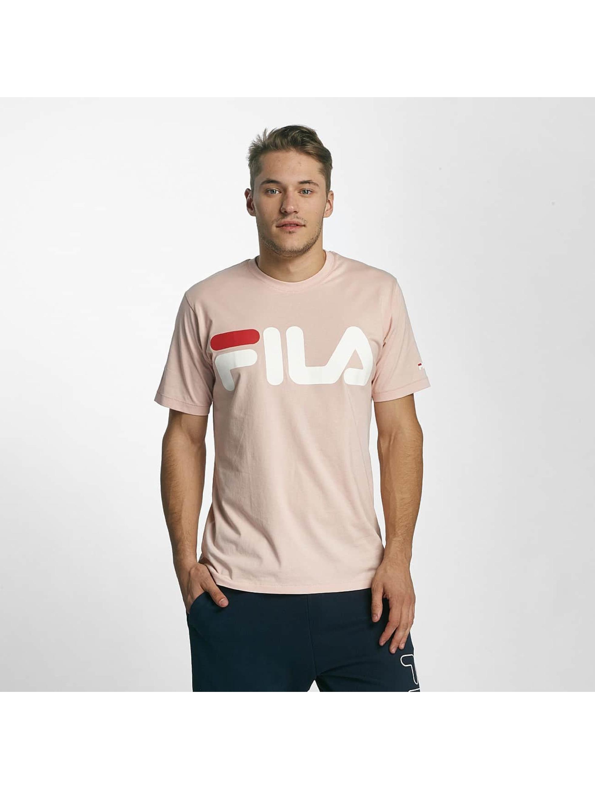 fila urban line classic logo rose homme t shirt fila acheter pas cher haut 381704. Black Bedroom Furniture Sets. Home Design Ideas