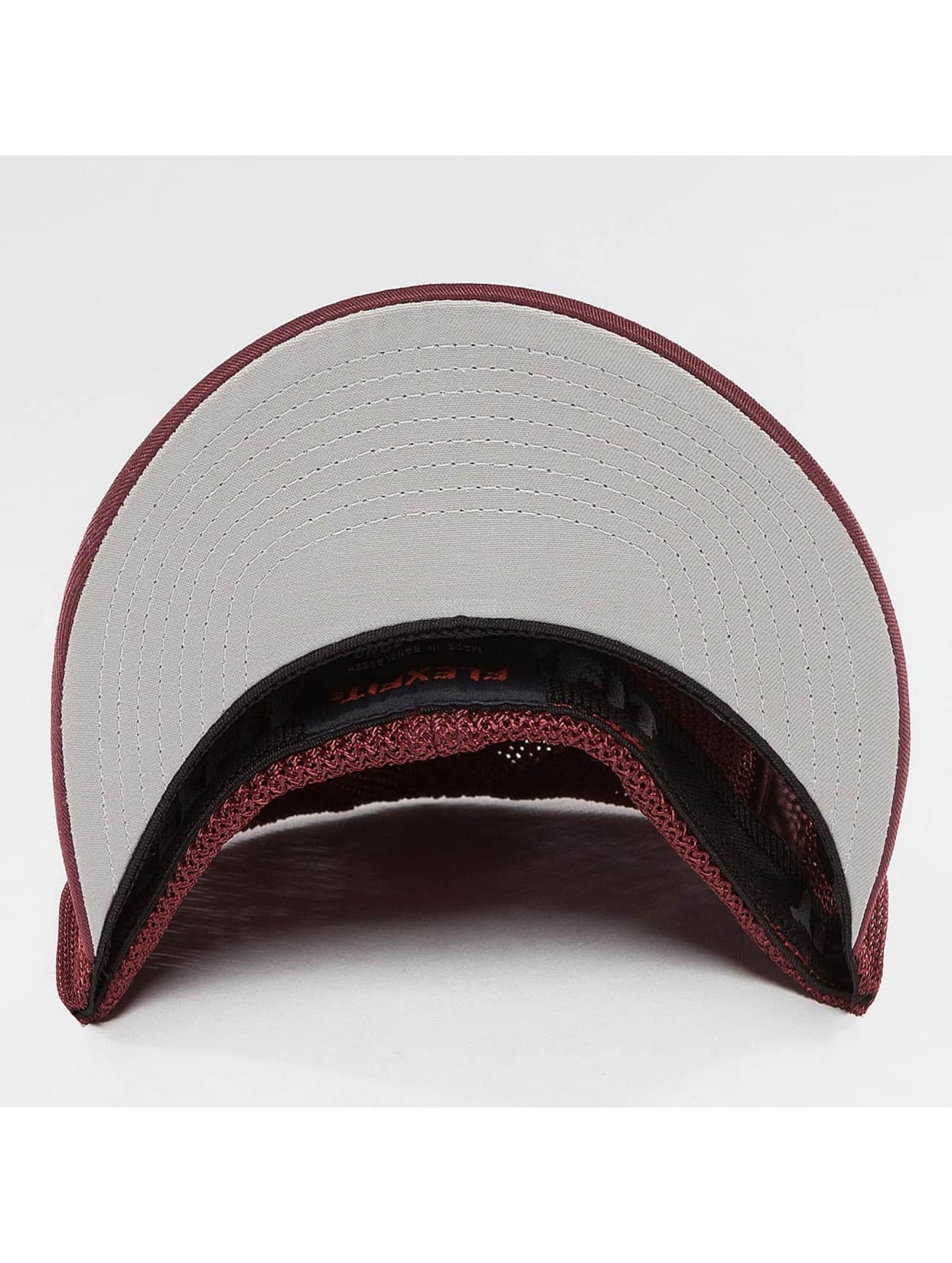 Flexfit Flexfitted Cap Mesh Cotton Twill red