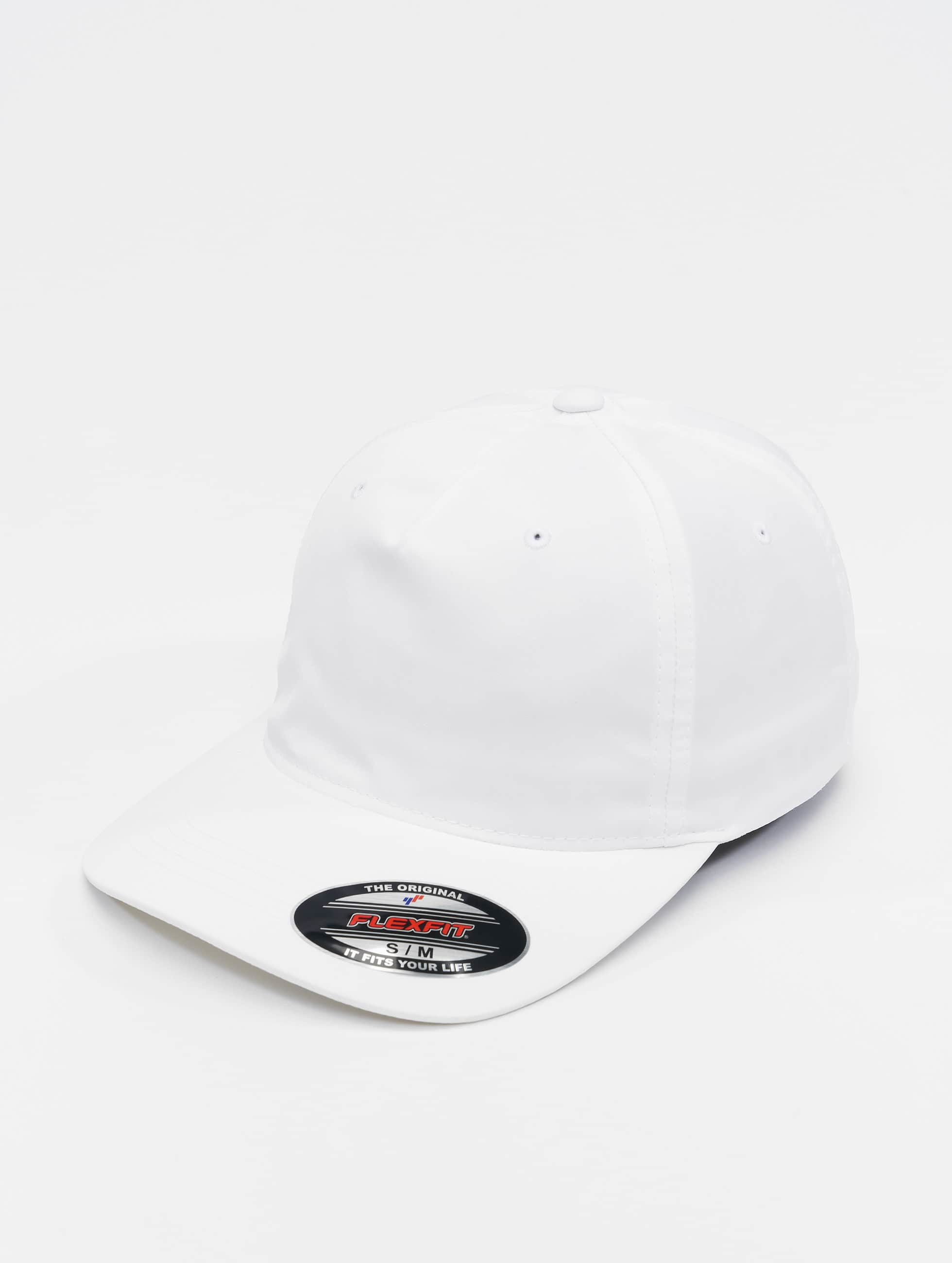 Flexfit Flexfitted Cap Unstructured Tech white