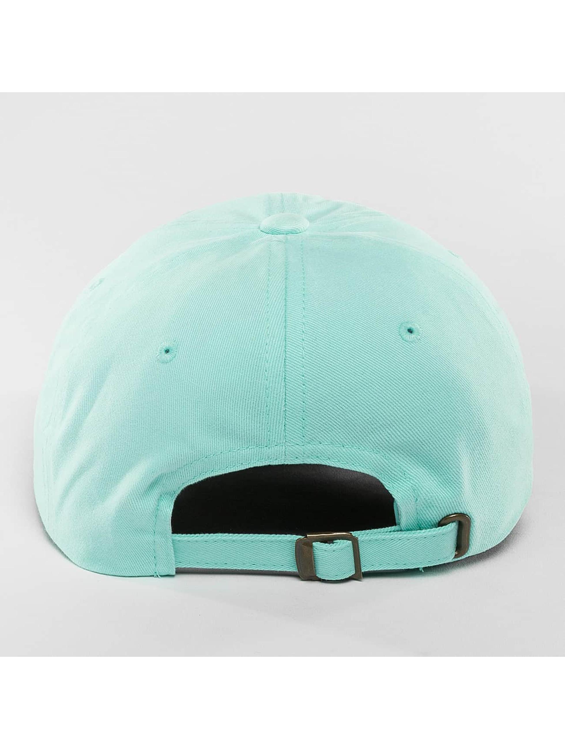 Flexfit Snapback Cap Peached Cotton Twill Dad blue