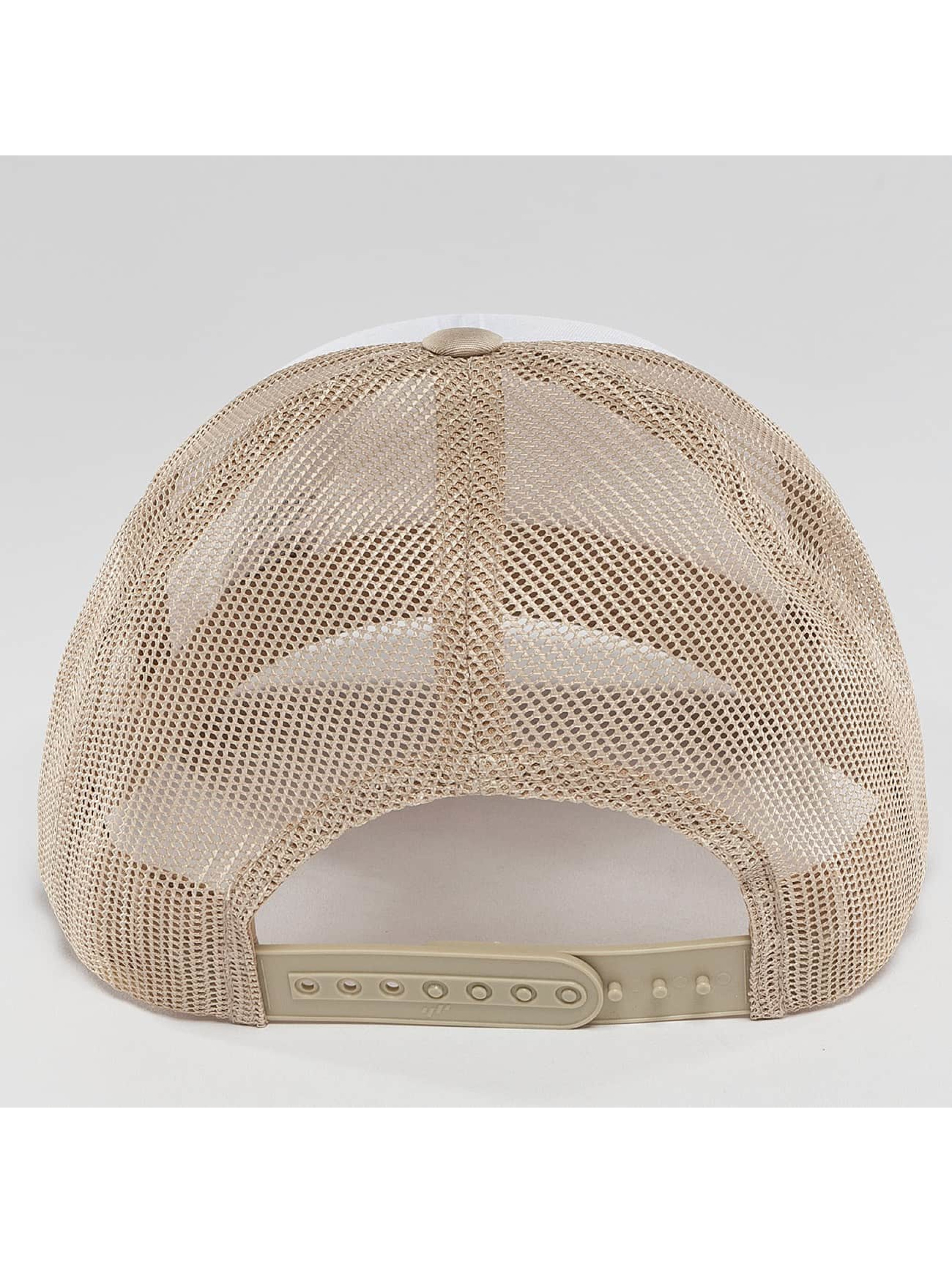 Flexfit Trucker Cap Retro Colored Front beige