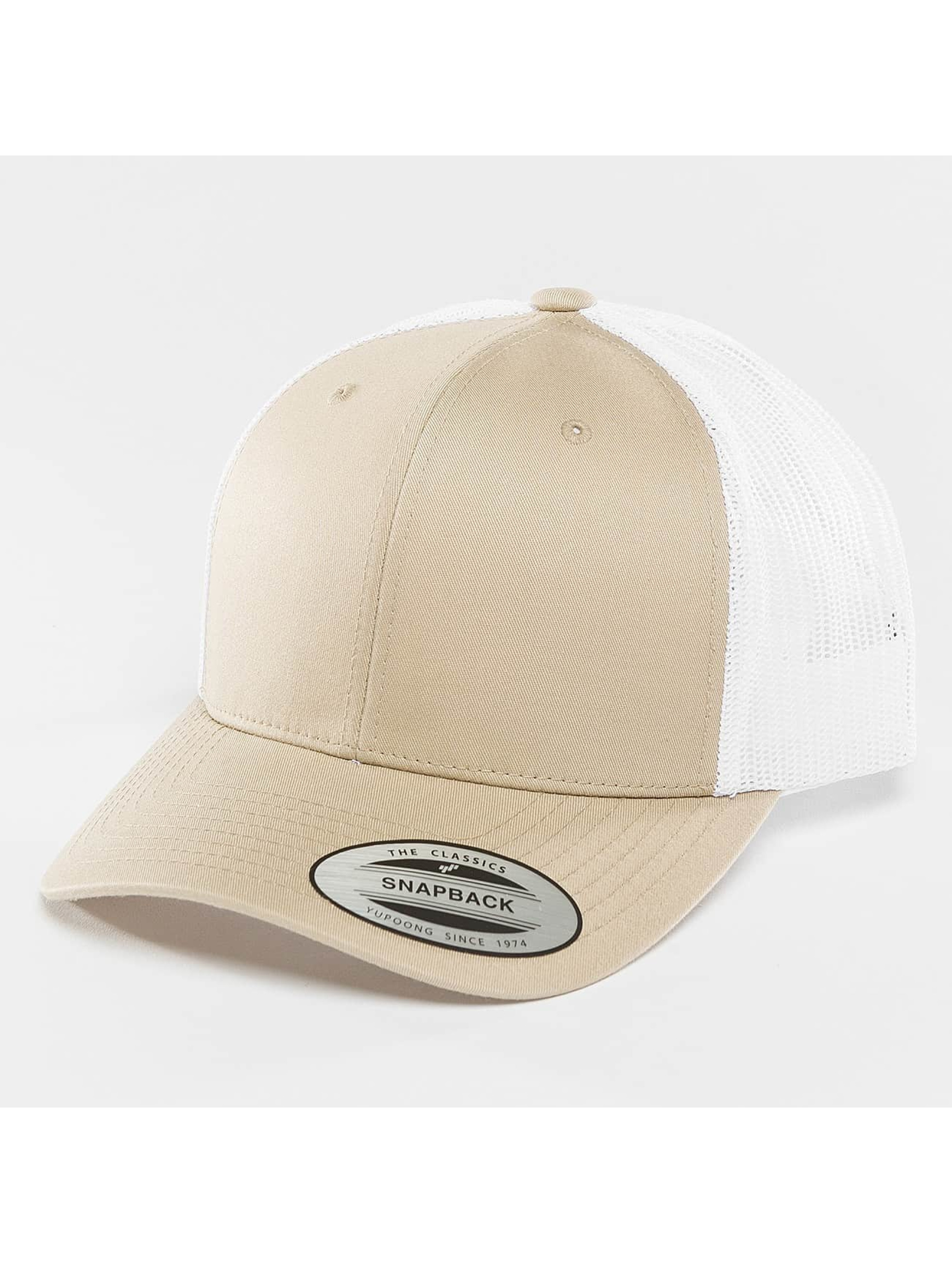 Flexfit Trucker Cap Retro Two Tone khaki