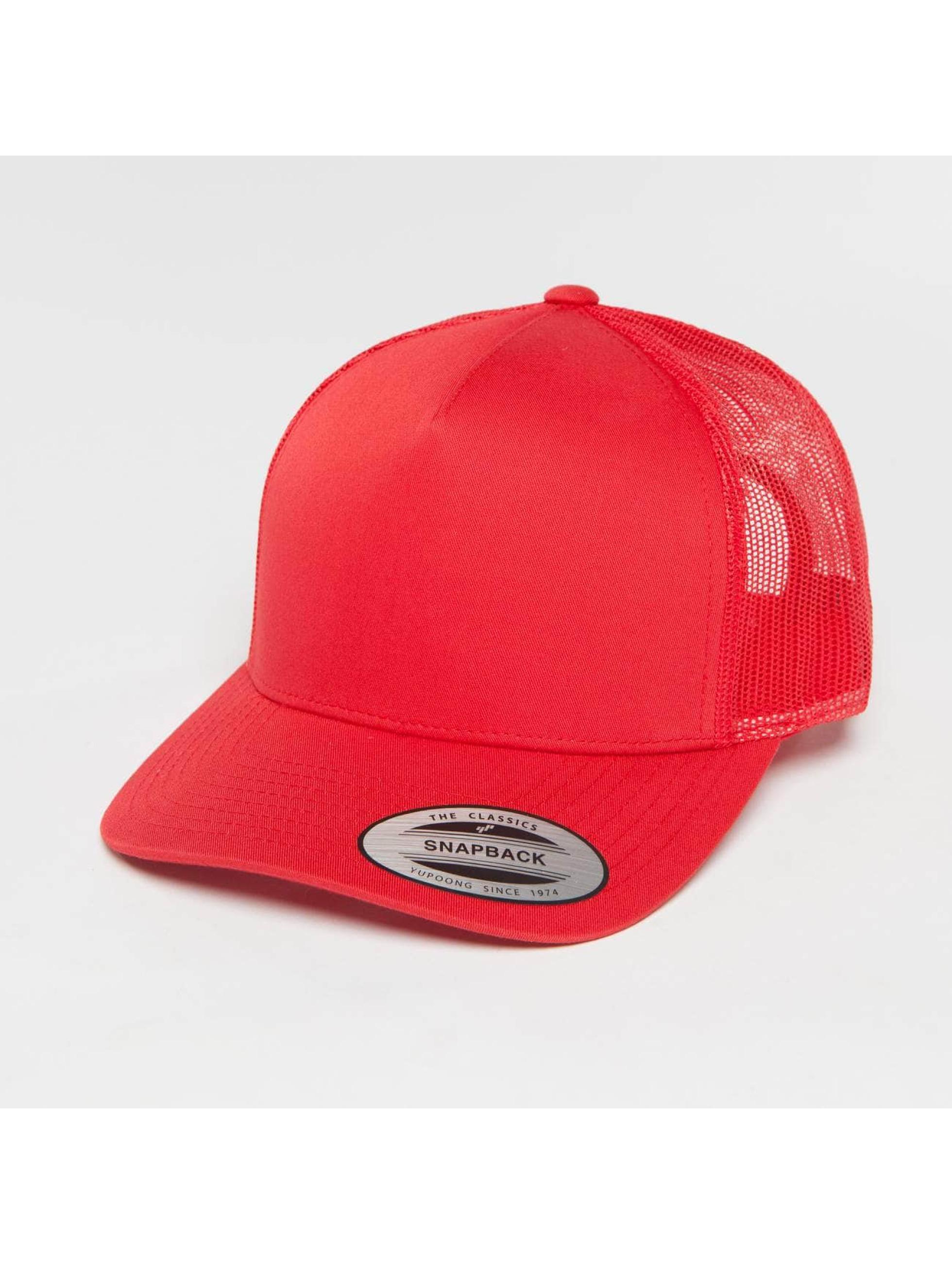 Flexfit Trucker Cap Retro red