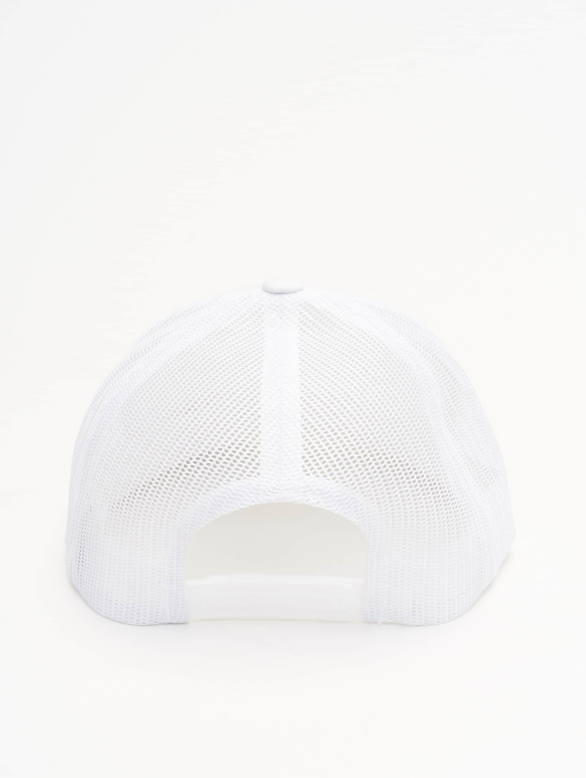 Flexfit Trucker Cap Retro white
